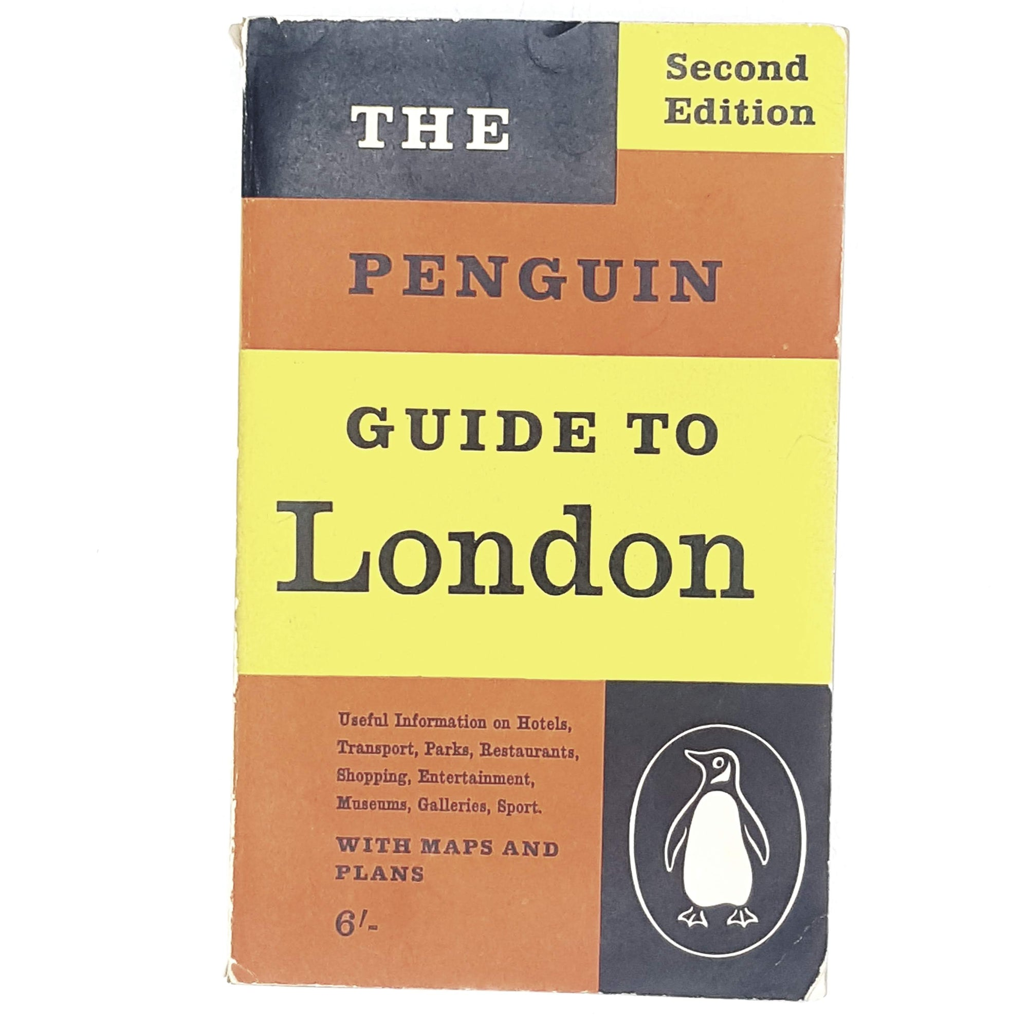 Vintage Penguin Guide to London 1960 - 1963