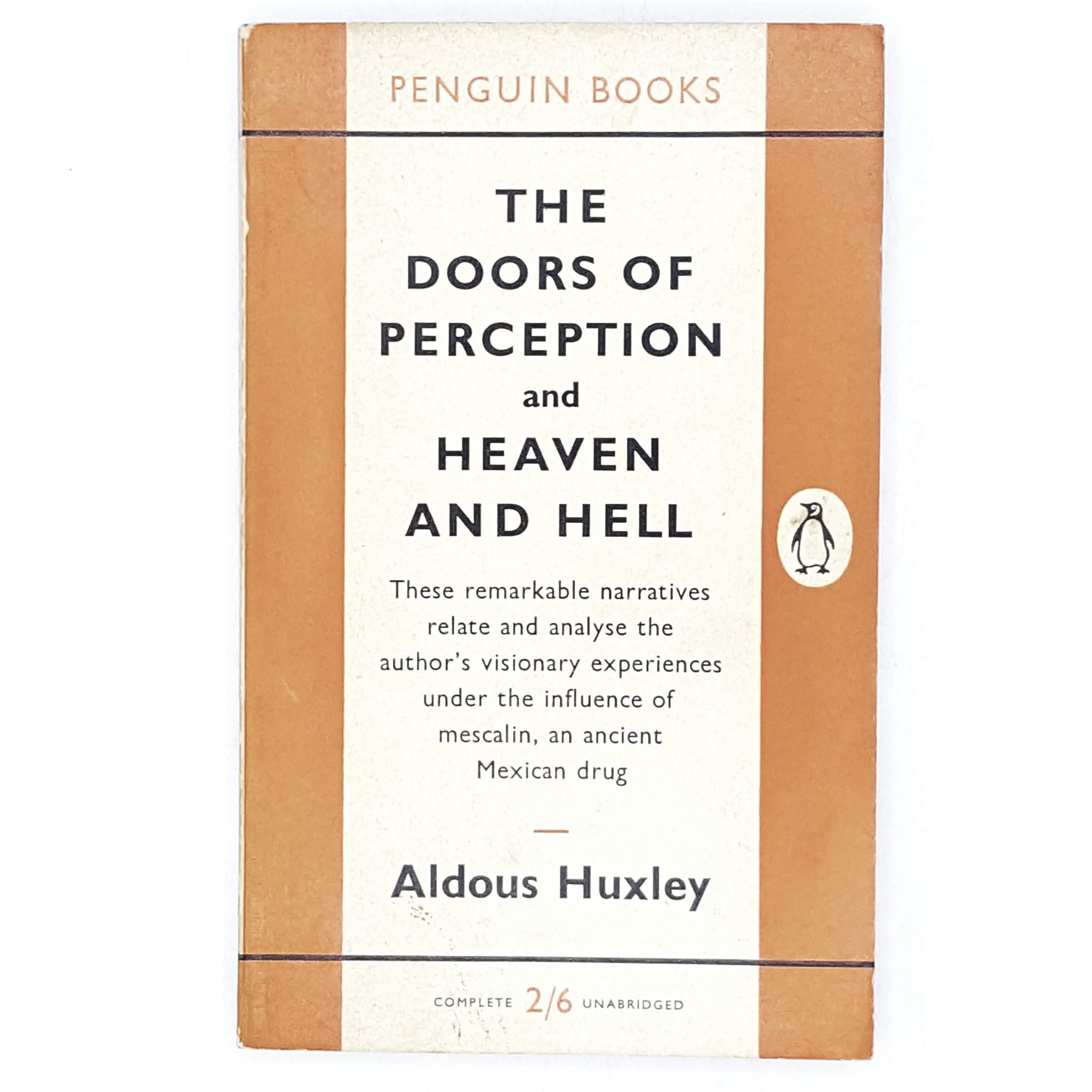 Aldous Huxley's The Doors of Perception and Heaven and Hell 1959