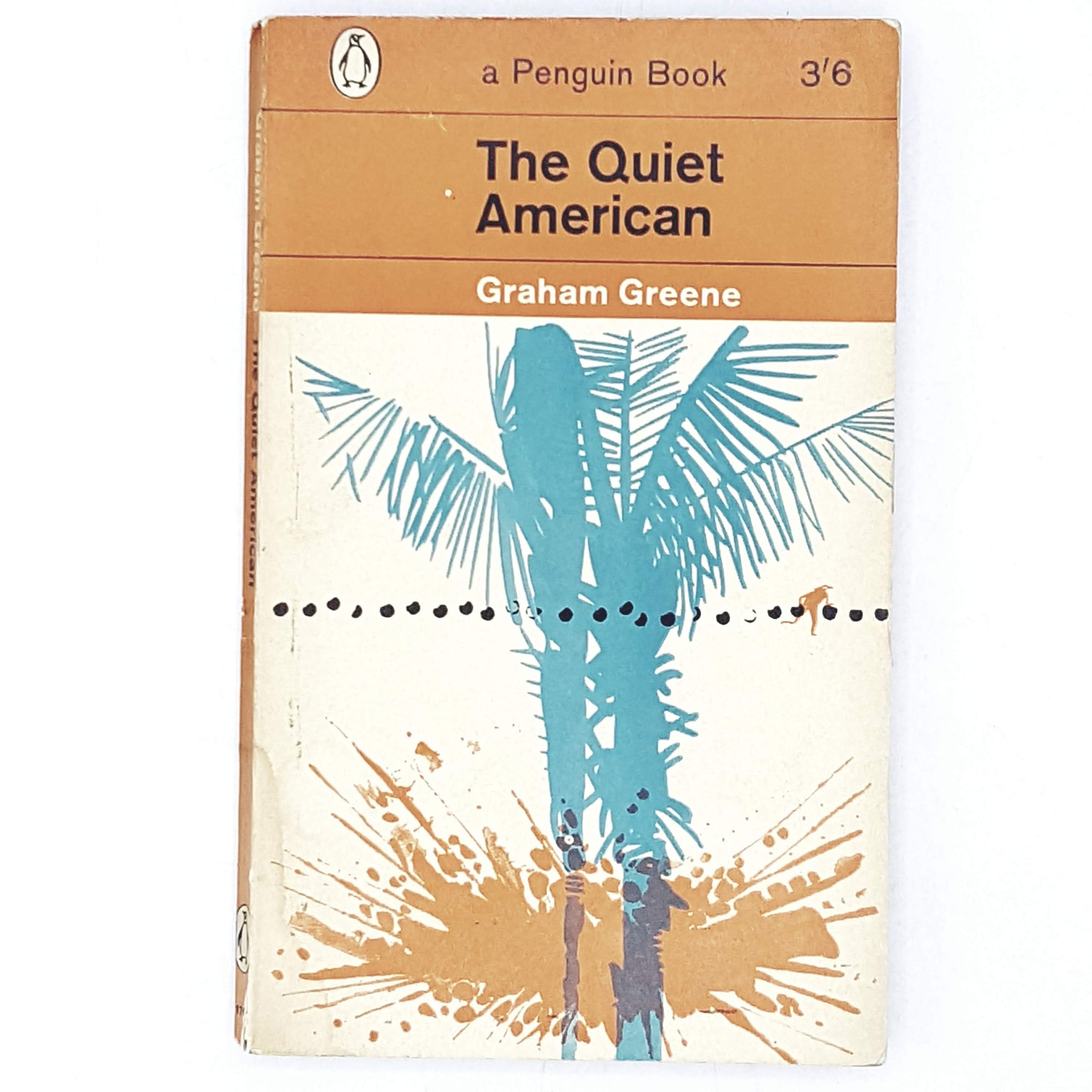 orange-graham-greene-american-vintage-penguin-country-house-library
