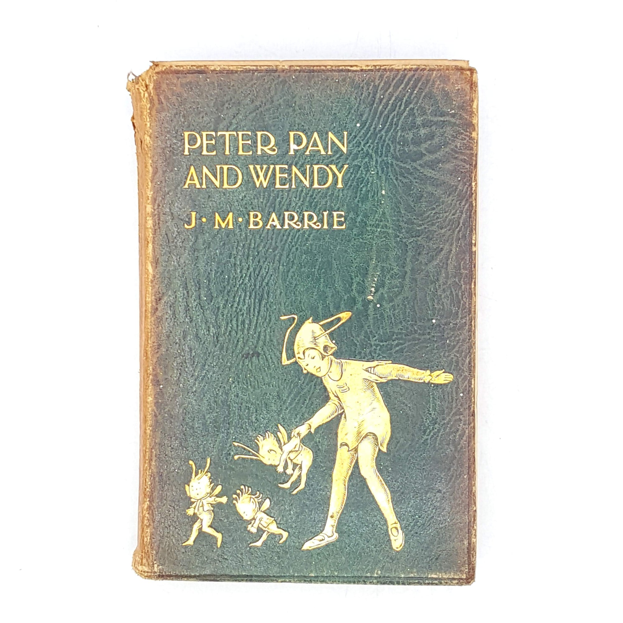classics-wendy-rare-old-books-jmbarrie-green-hodder-country-house-library-collection-peter-pan-thrift-vintage-