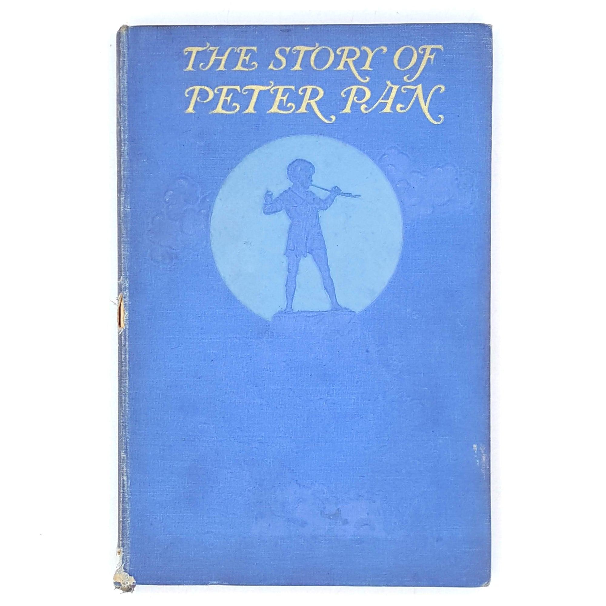 vintage-thrift-classics-country-house-library-peter-pan-blue-books-wendy-1931-jmbarrie-rare-old-