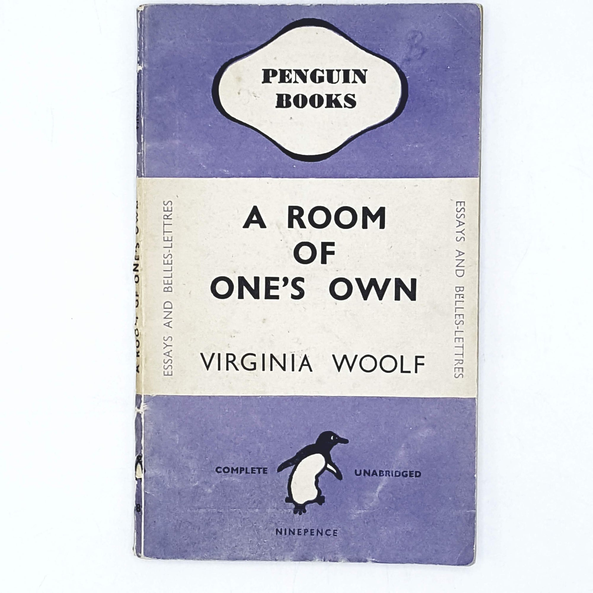 First Edition Virginia Woolf's A Room of One's Own 1945
