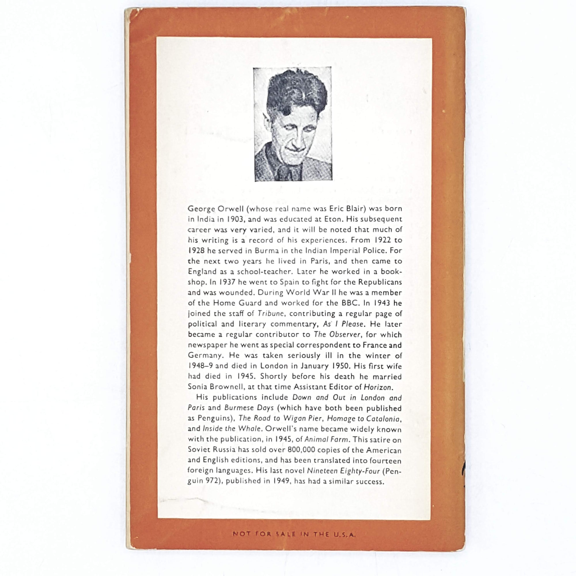 george-orwell-orange-vintage-penguin-country-house-library