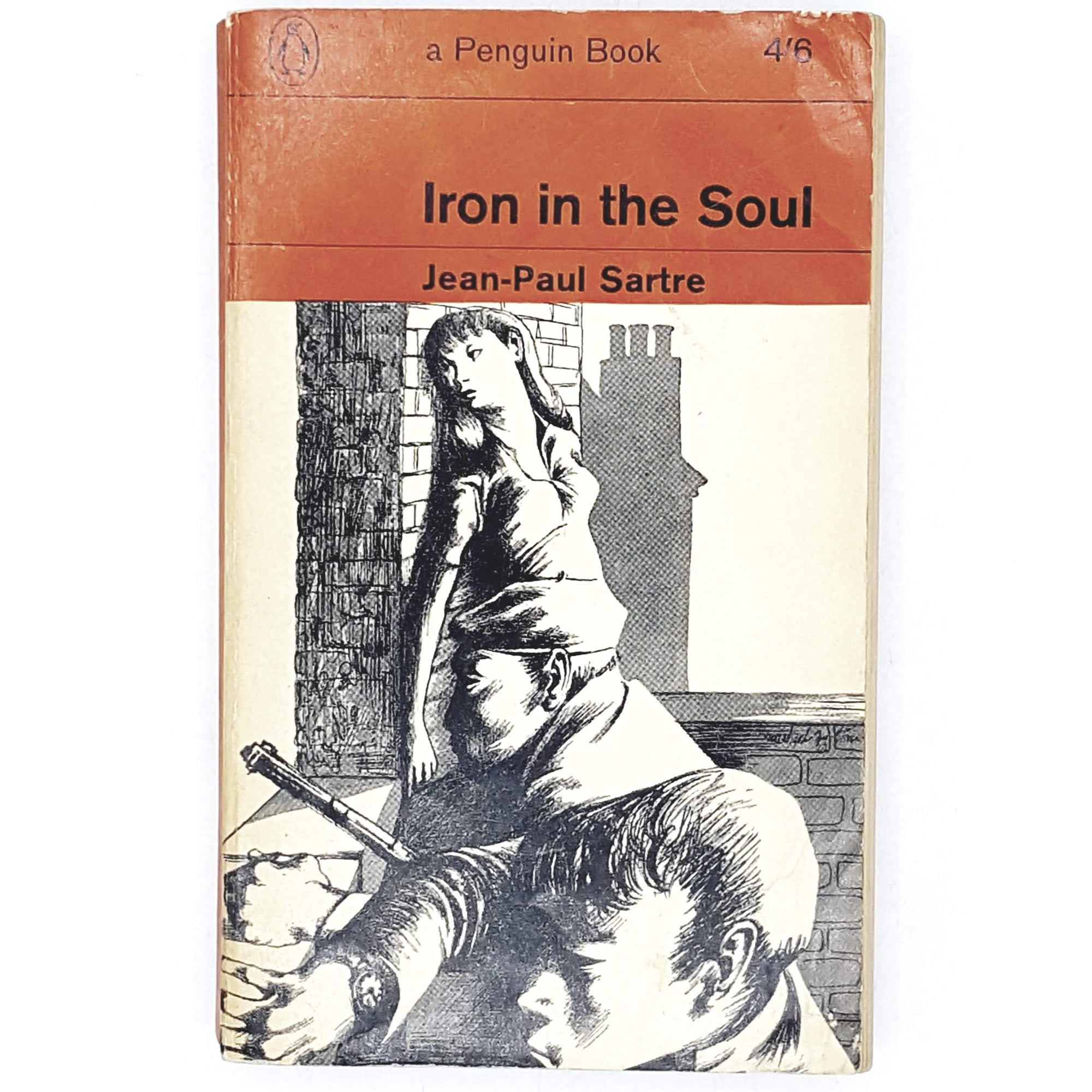 First Edition Jean Paul Sartre's Iron in the Soul 1963