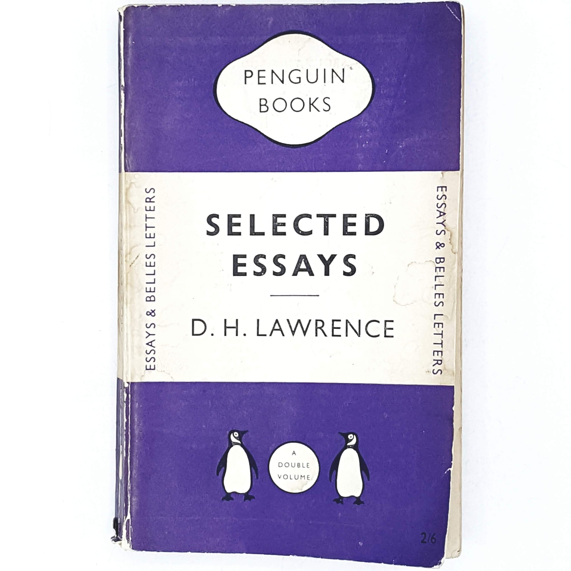 First Edition D. H. Lawrence's Selected Essays 1950