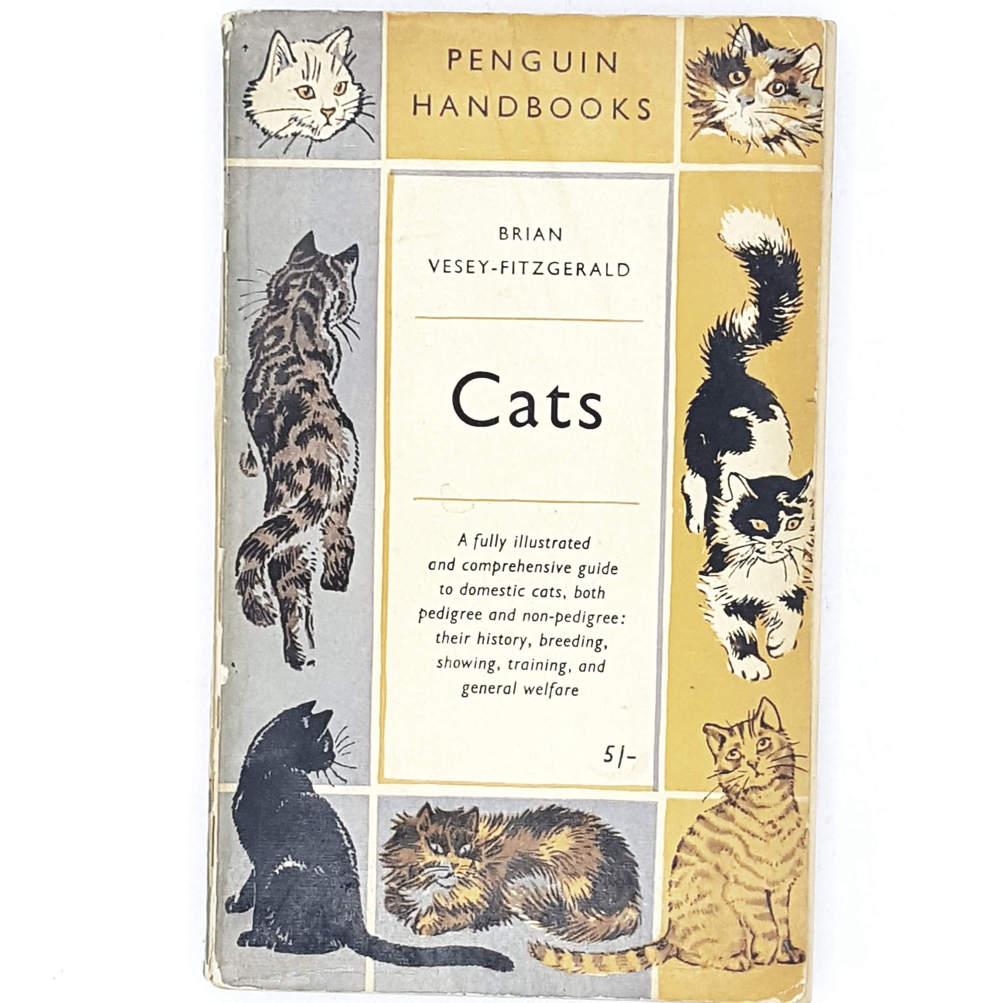 First Edition Penguin Handbook: Cats 1957