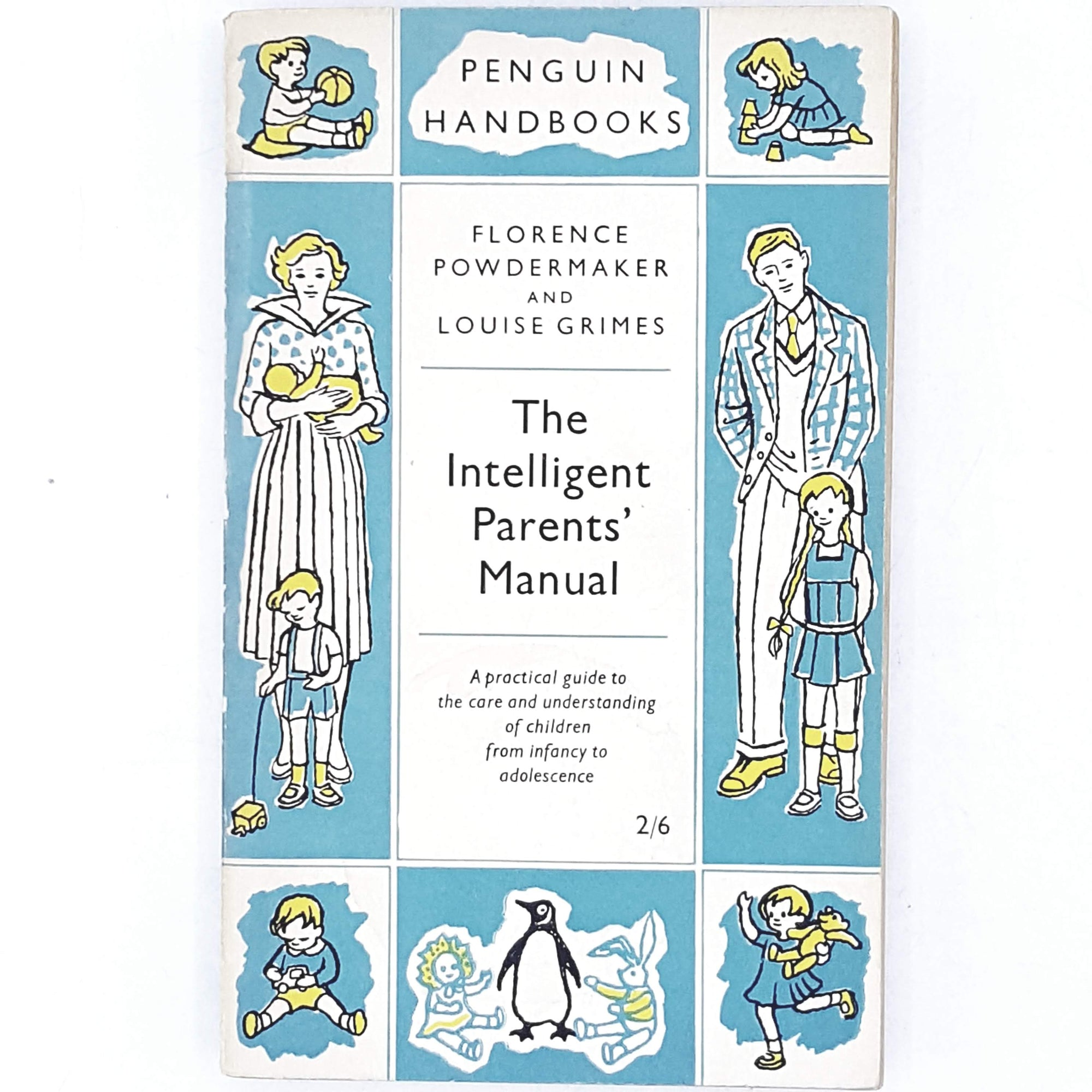 blue-handbook-vintage-penguin-country-house-library