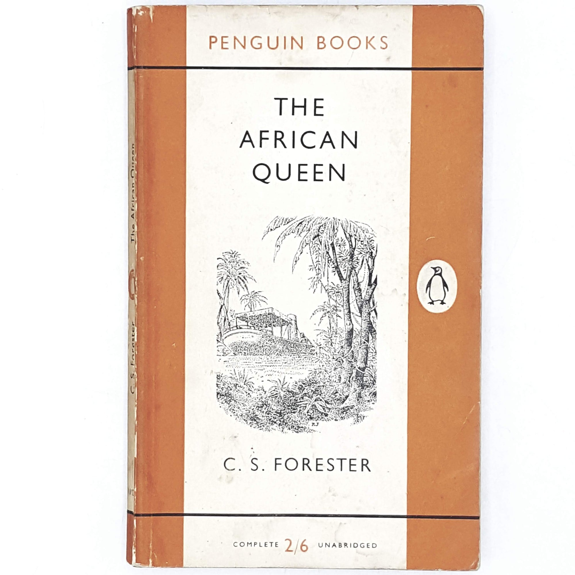 First Edition C. S. Forester's The African Queen 1956