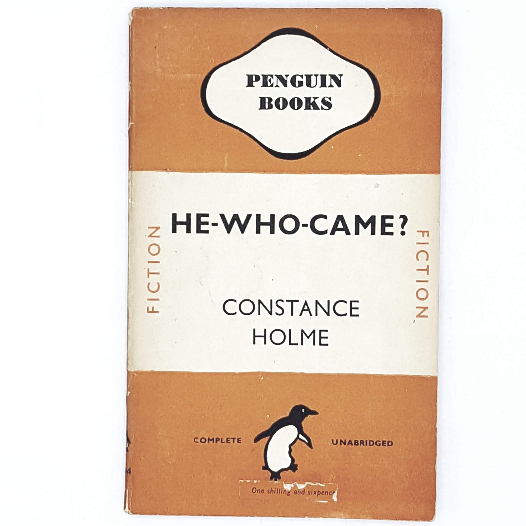 orange-constance-holme-vintage-penguin-country-house-library