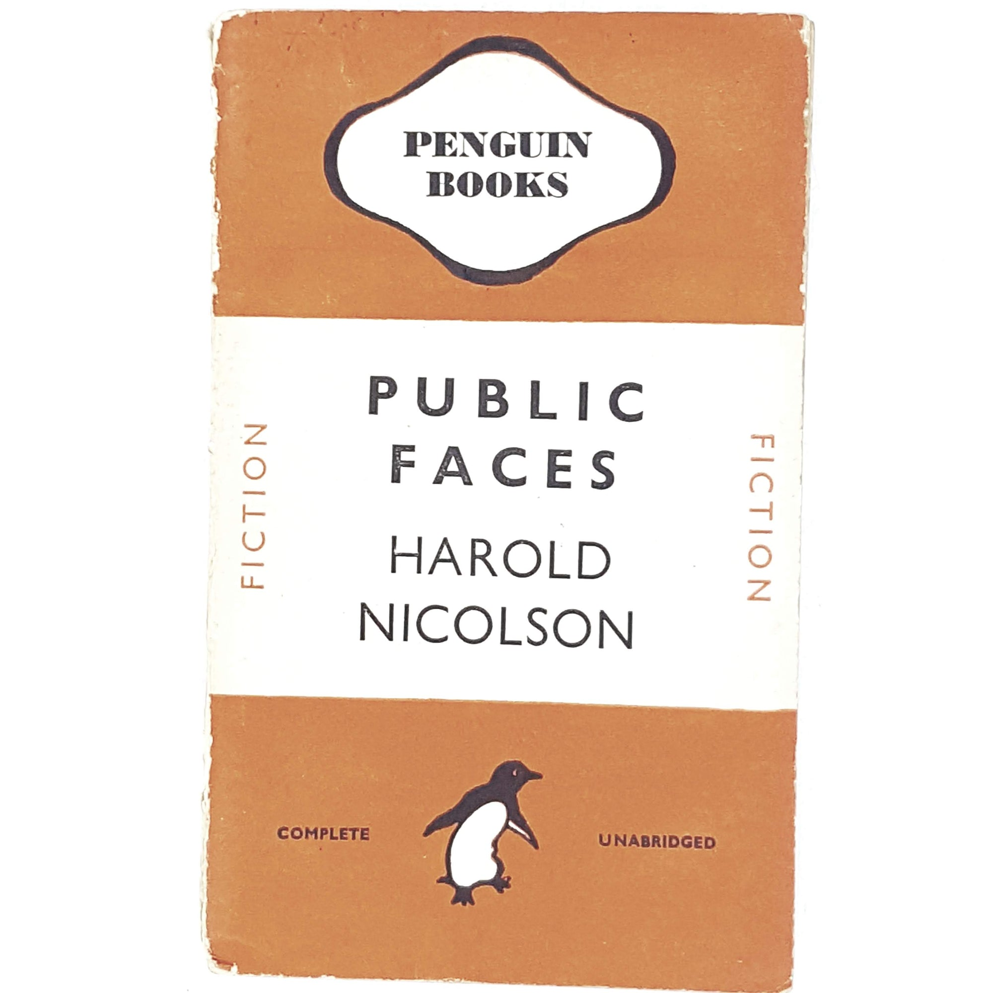 Vintage Penguin Public Faces by Harold Nicholson 1945