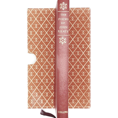 red-poetry-john-keats-vintage-book-country-house-library
