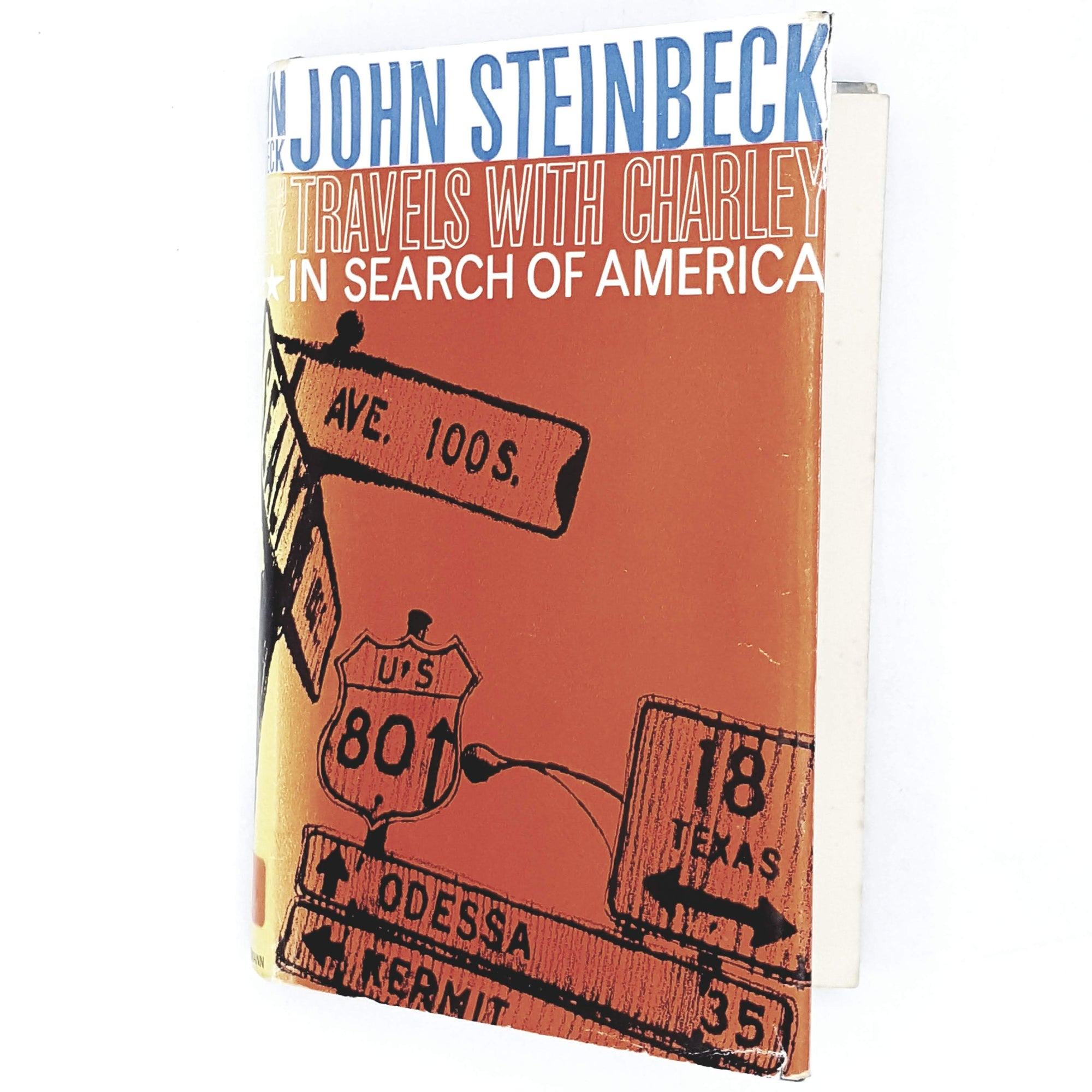orange-john-steinbeck-vintage-book-country-house-library