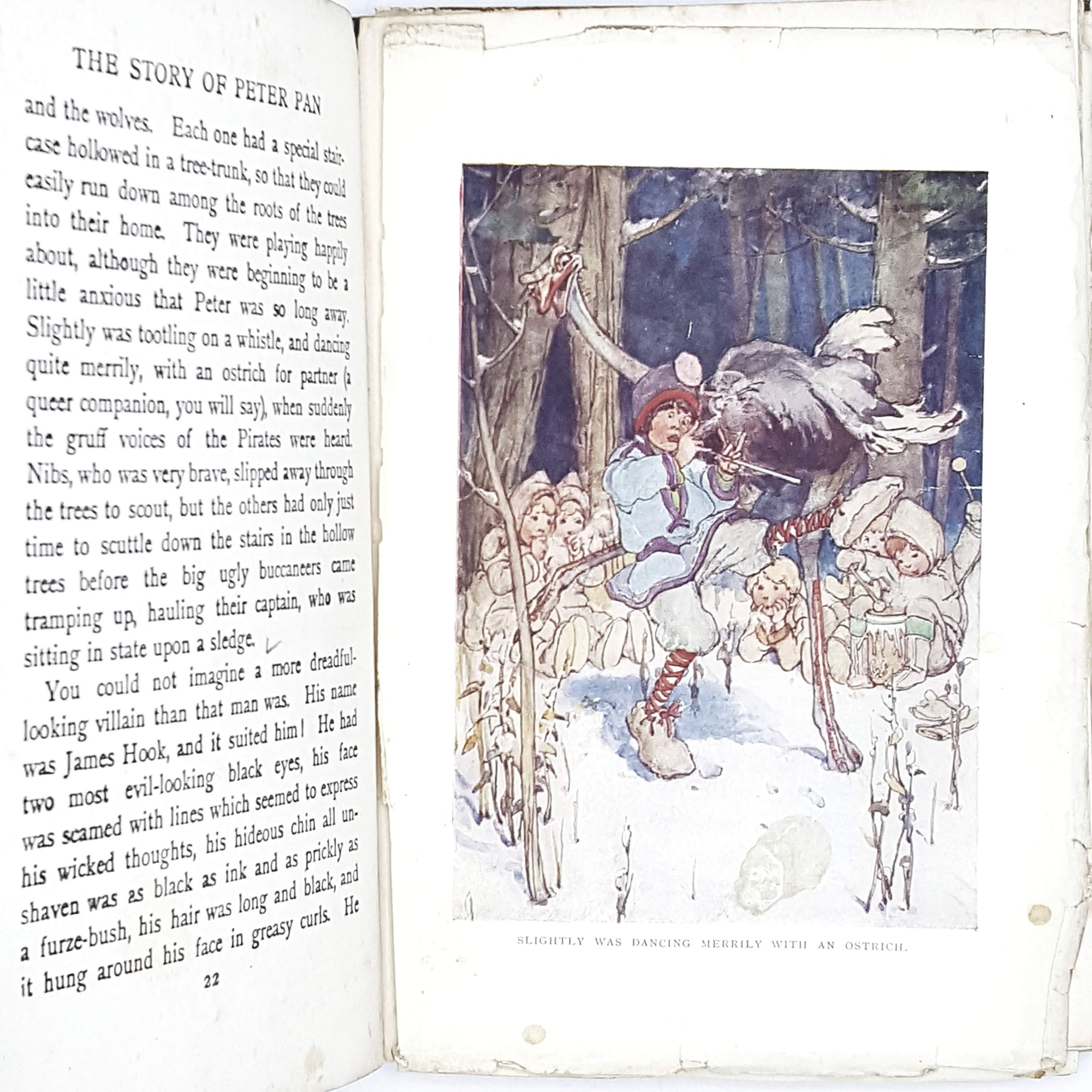 peter-pan-pale-blue-vintage-book-country-house-library