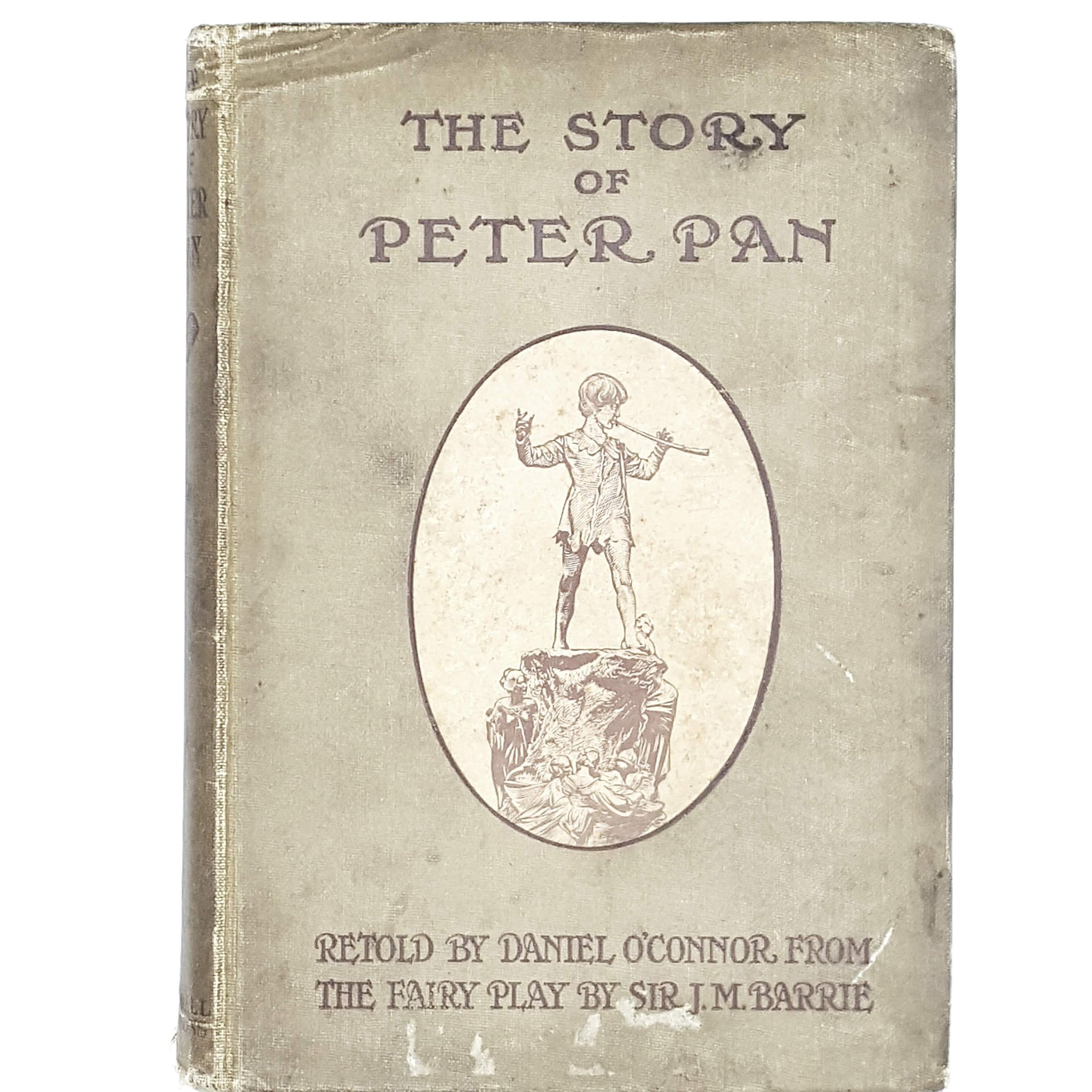 brown-peter-pan-vintage-book-country-house-library