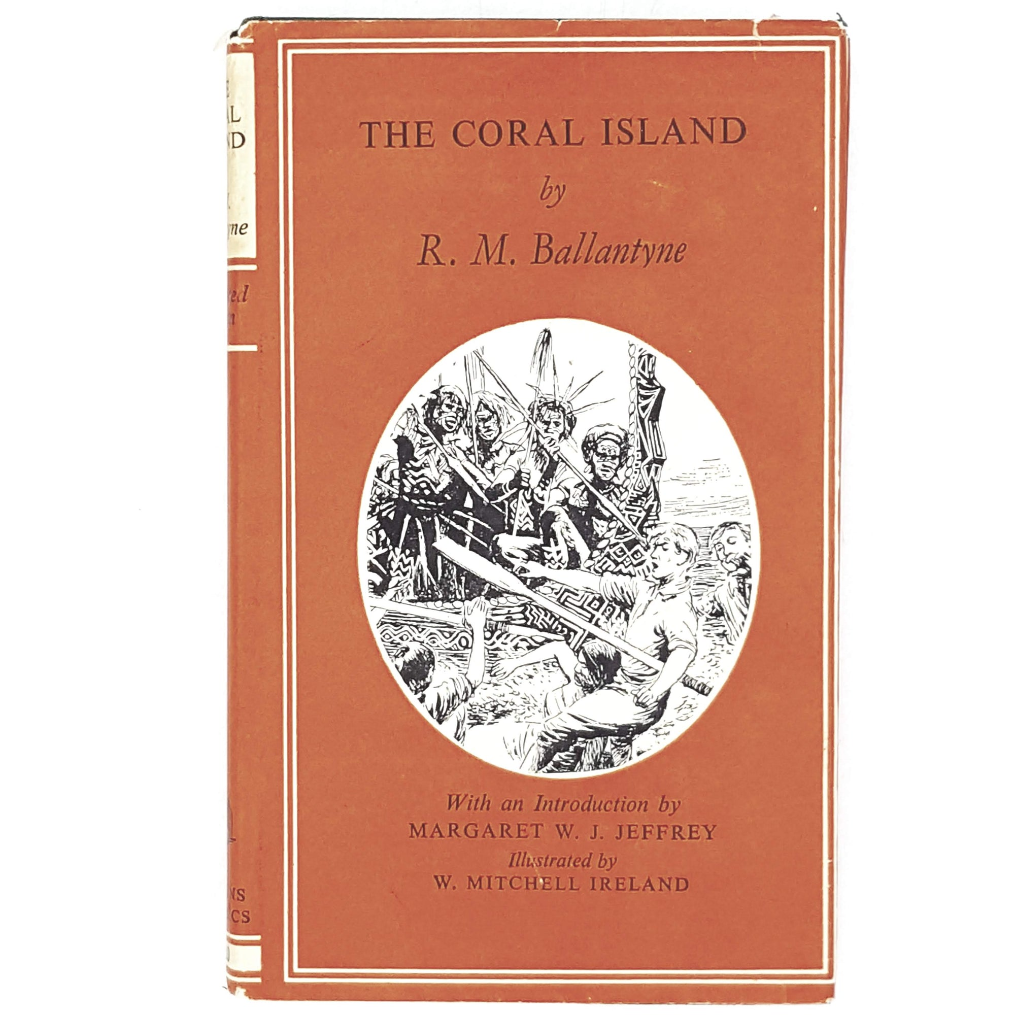 Illustrated The Coral Island by R. M. Ballantyne