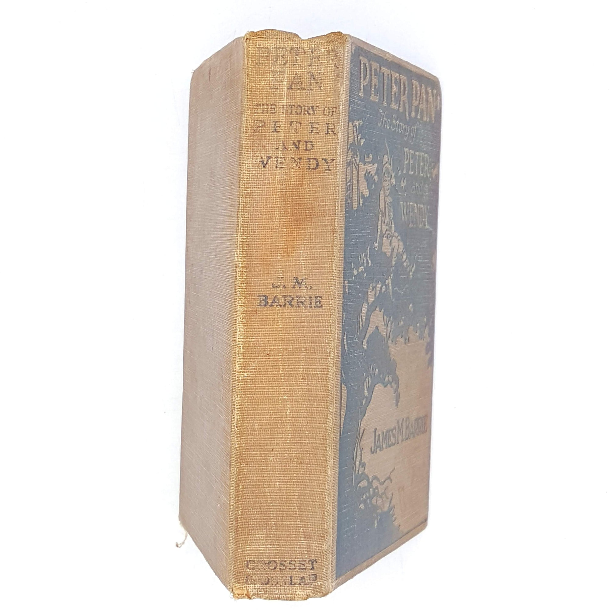 Peter Pan, The Story of Peter and Wendy by J. M. Barrie 1911
