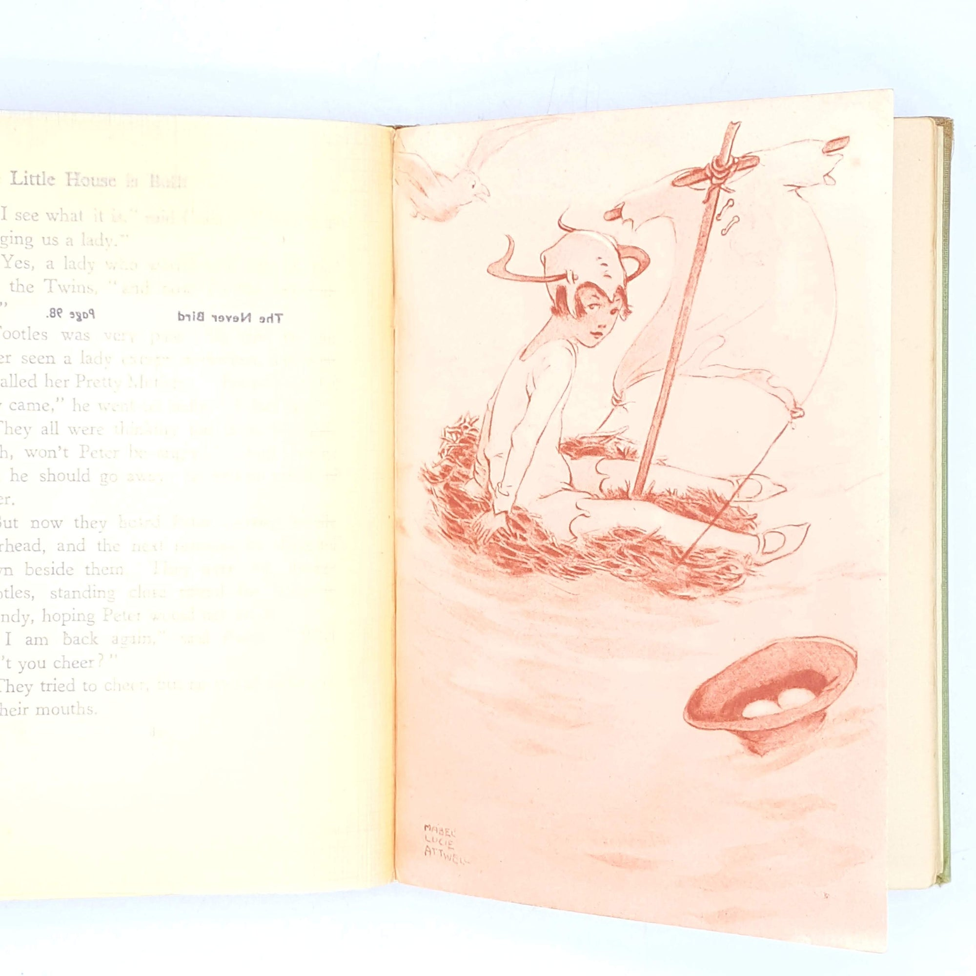peter-pan-childrens-thrift-classics-wendy-country-house-library-vintage-books-old-jmbarrie-green-illustrated-hodder-photography-