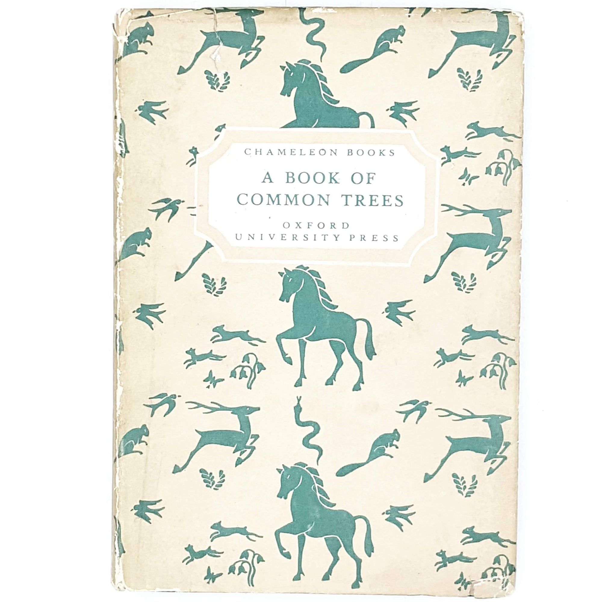 Illustrated A Book of Common Trees 1942
