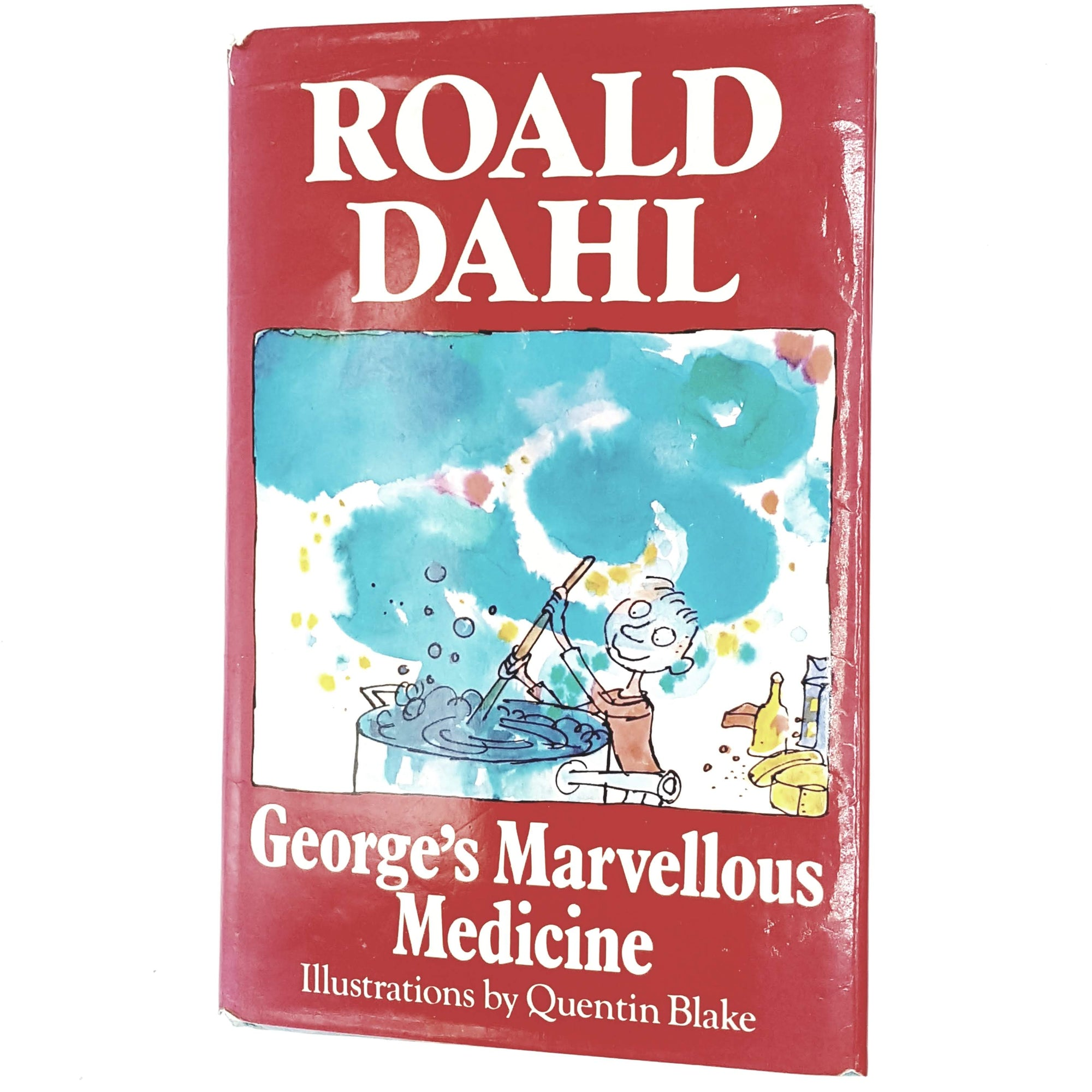 red-roald-dahl-vintage-book-country-house-library