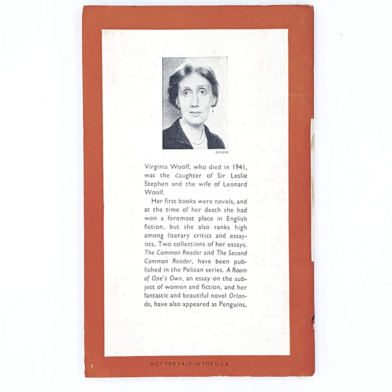 First Edition Virginia Woolf's Between the Acts 1953