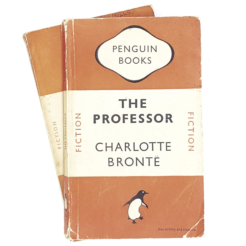 Collection Charlotte Brontë's Jane Eyre & The Professor First Editions 1948 - 1953