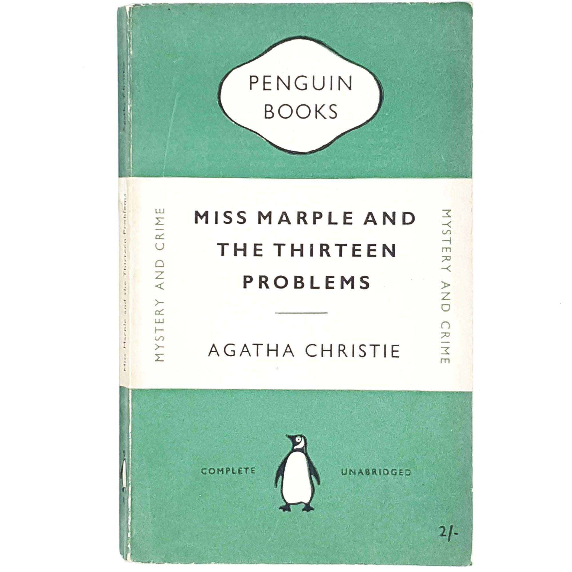 green-penguin-agatha-christie-vintage-book-country-house-library
