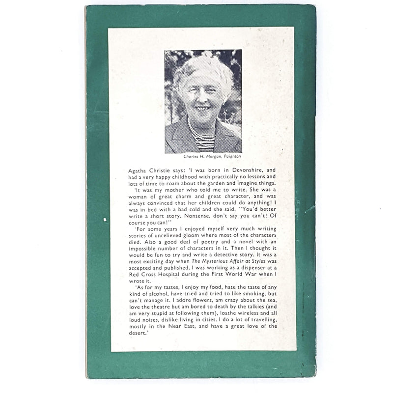 green-agatha-christie-vintage-book-country-house-library