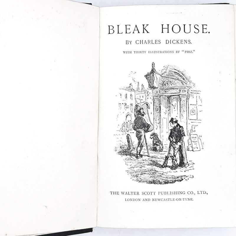 green-dickens-vintage-book-country-house-library