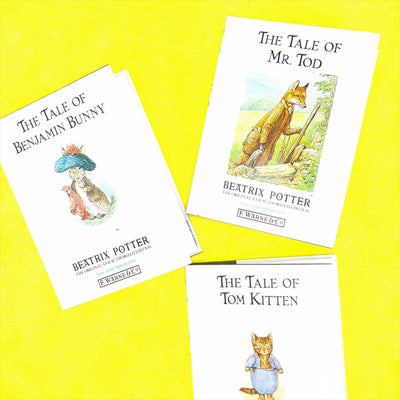Beatrix Potter Three Book Collection