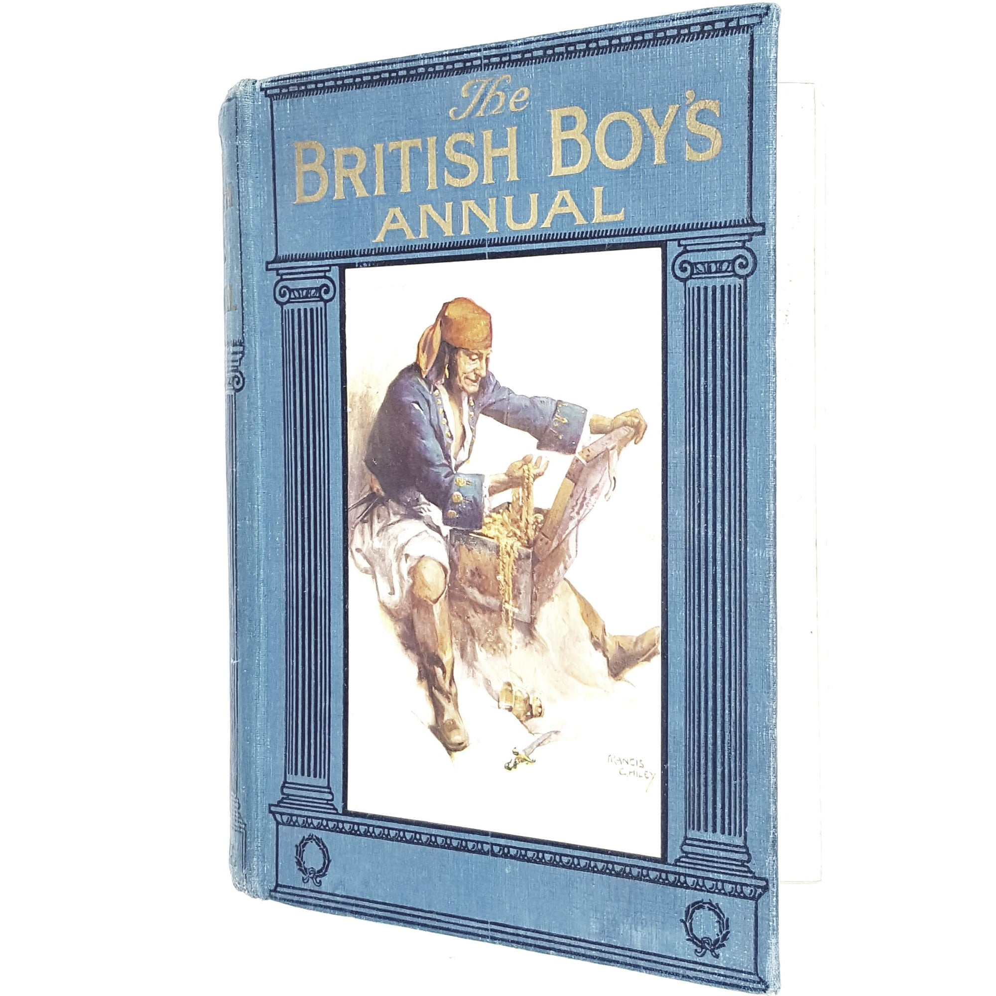 Illustrated The British Boy's Annual