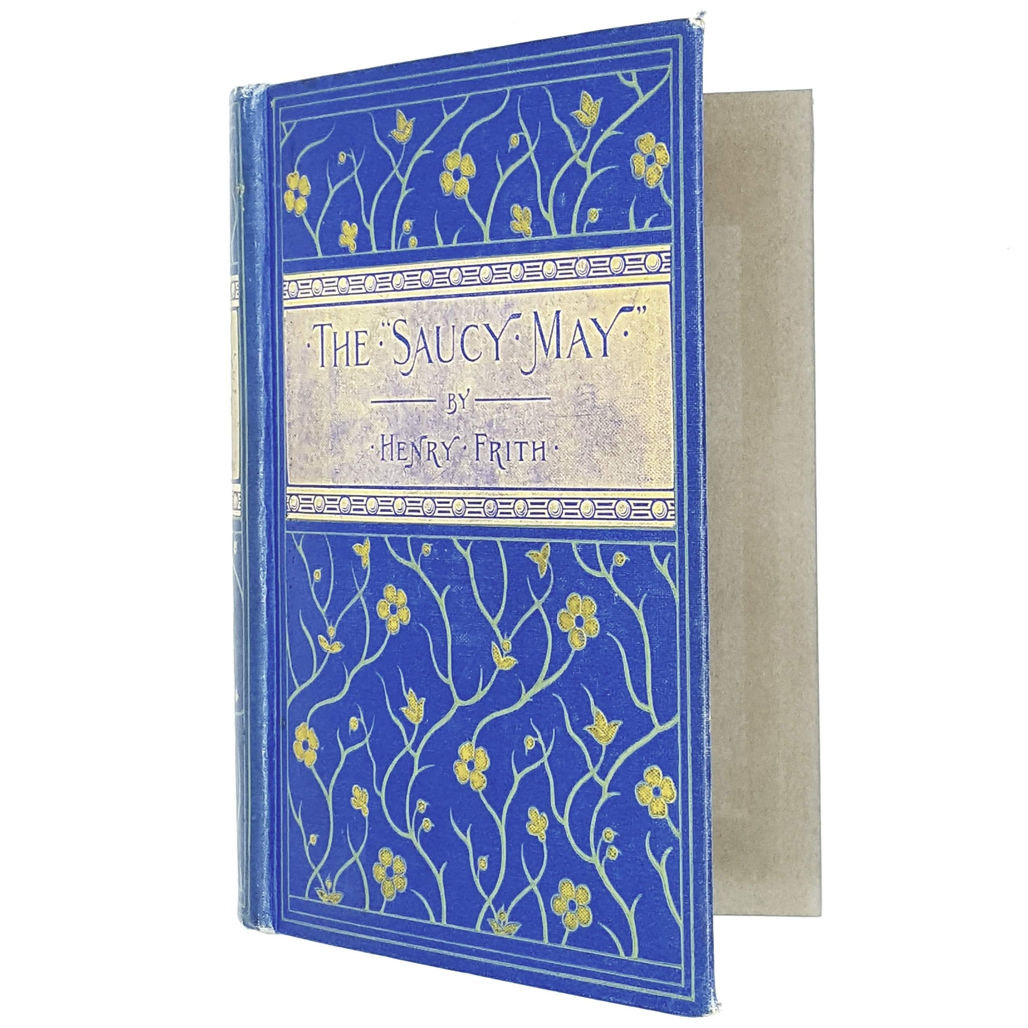 Illustrated The Saucy May by Henry Frith c1905