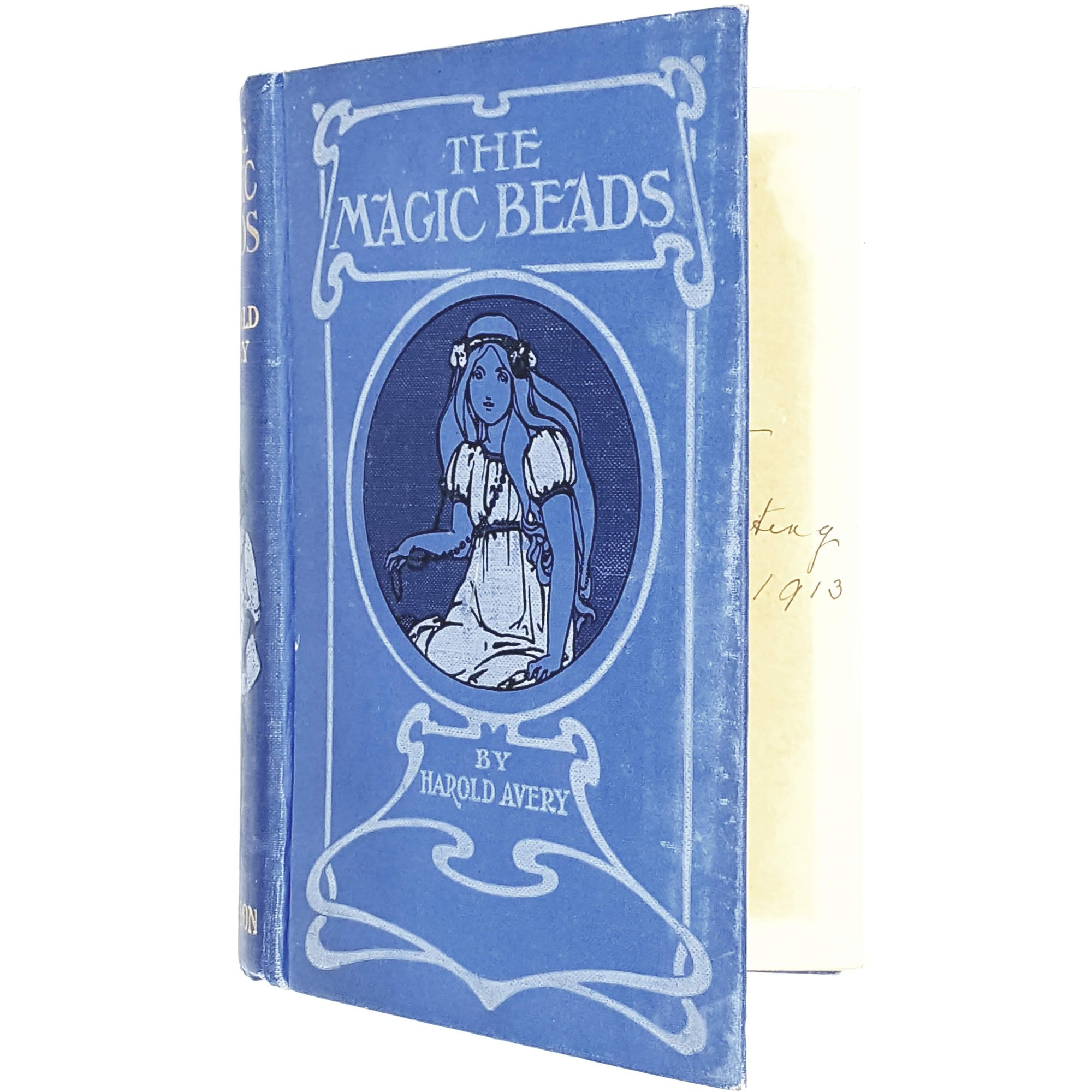 Illustrated The Magic Beads by Harold Avery c1913