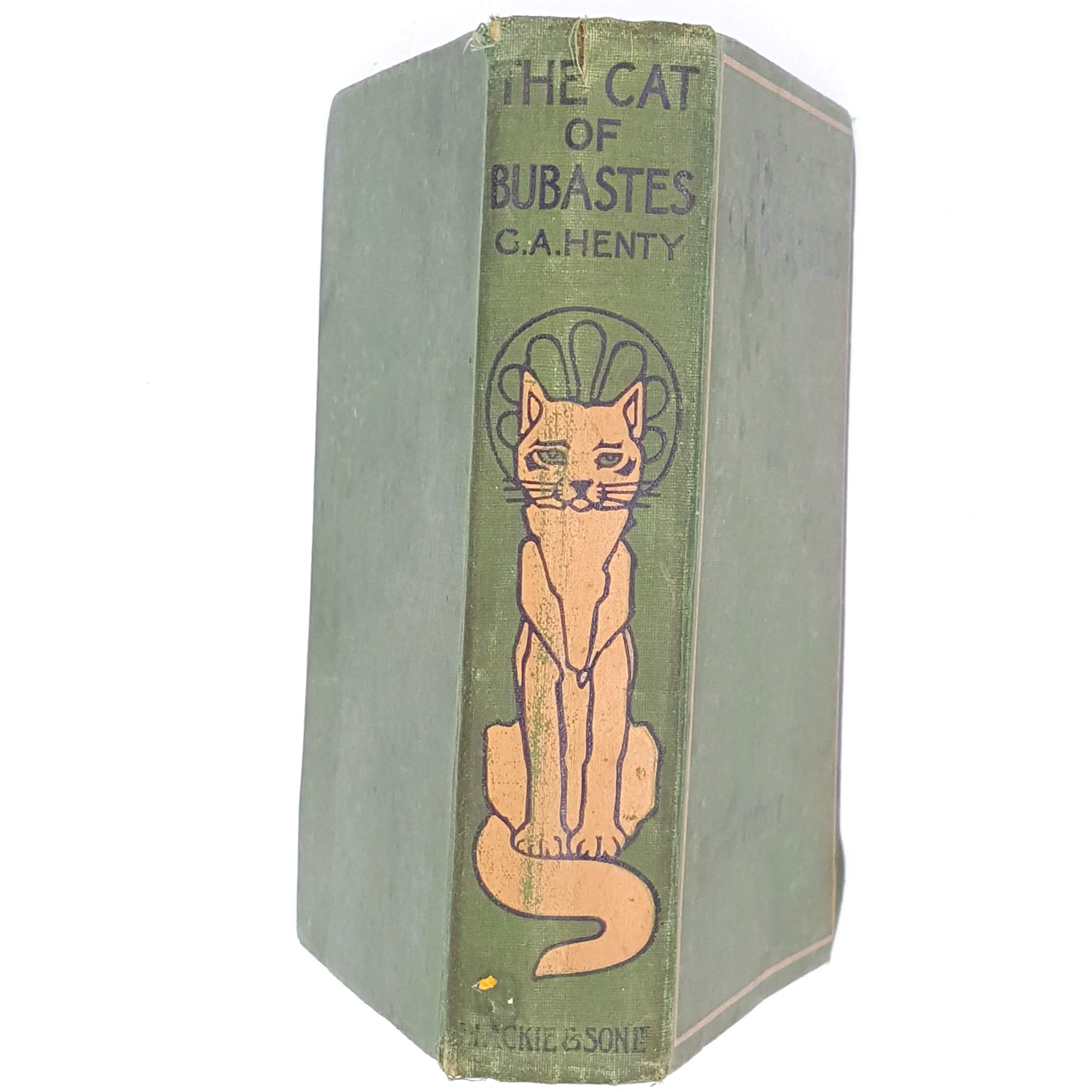 The Cat of Bubastes by G. A. Henty 1940s