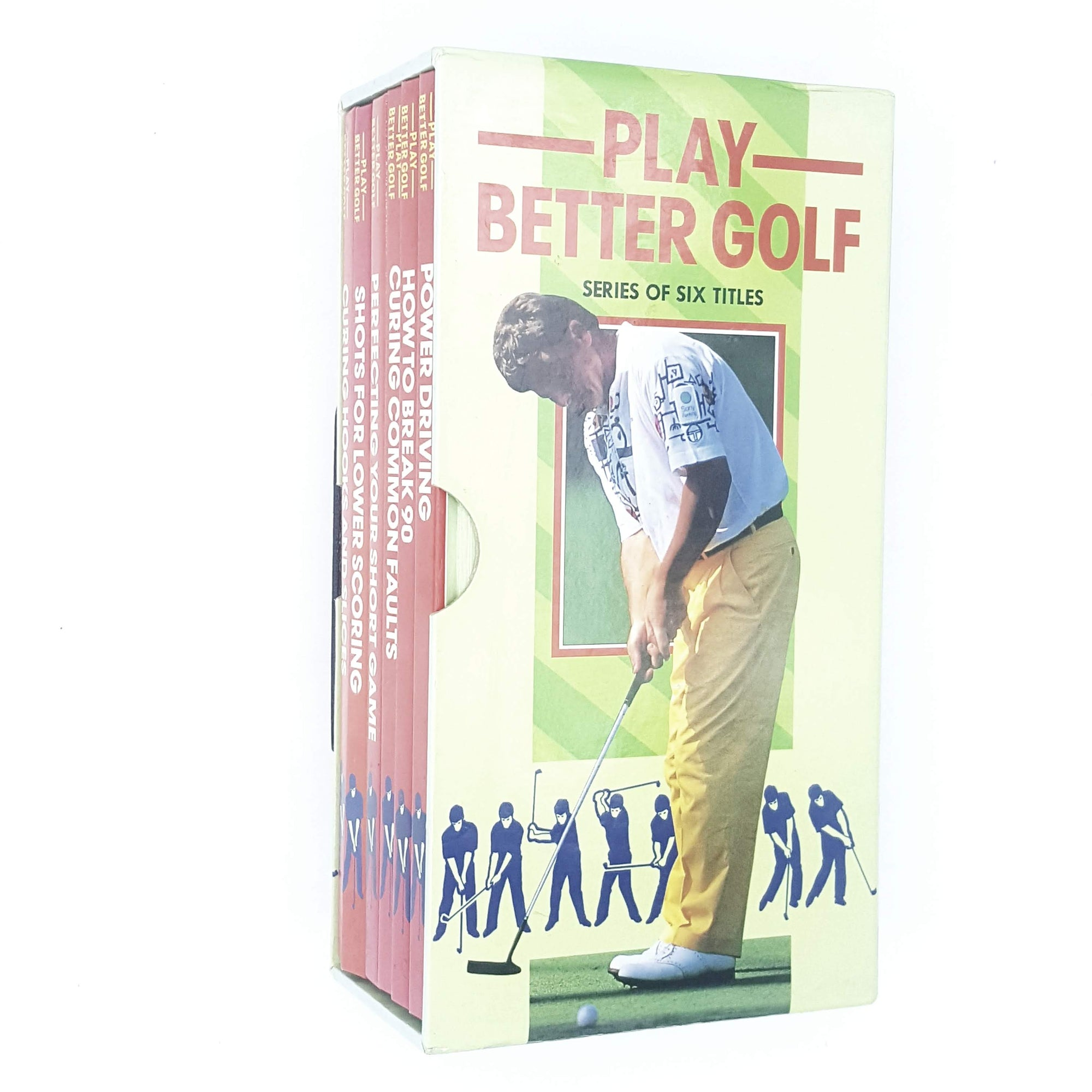 Collection Play Better Golf, illustrated