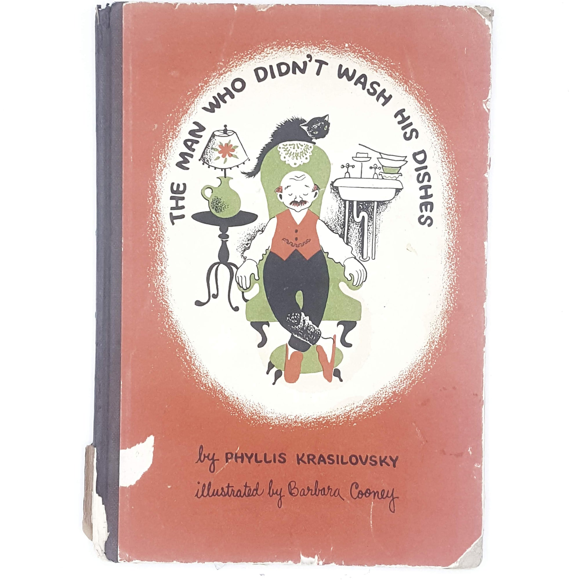 First Edition The Man Who Didn't Wash His Dishes 1962