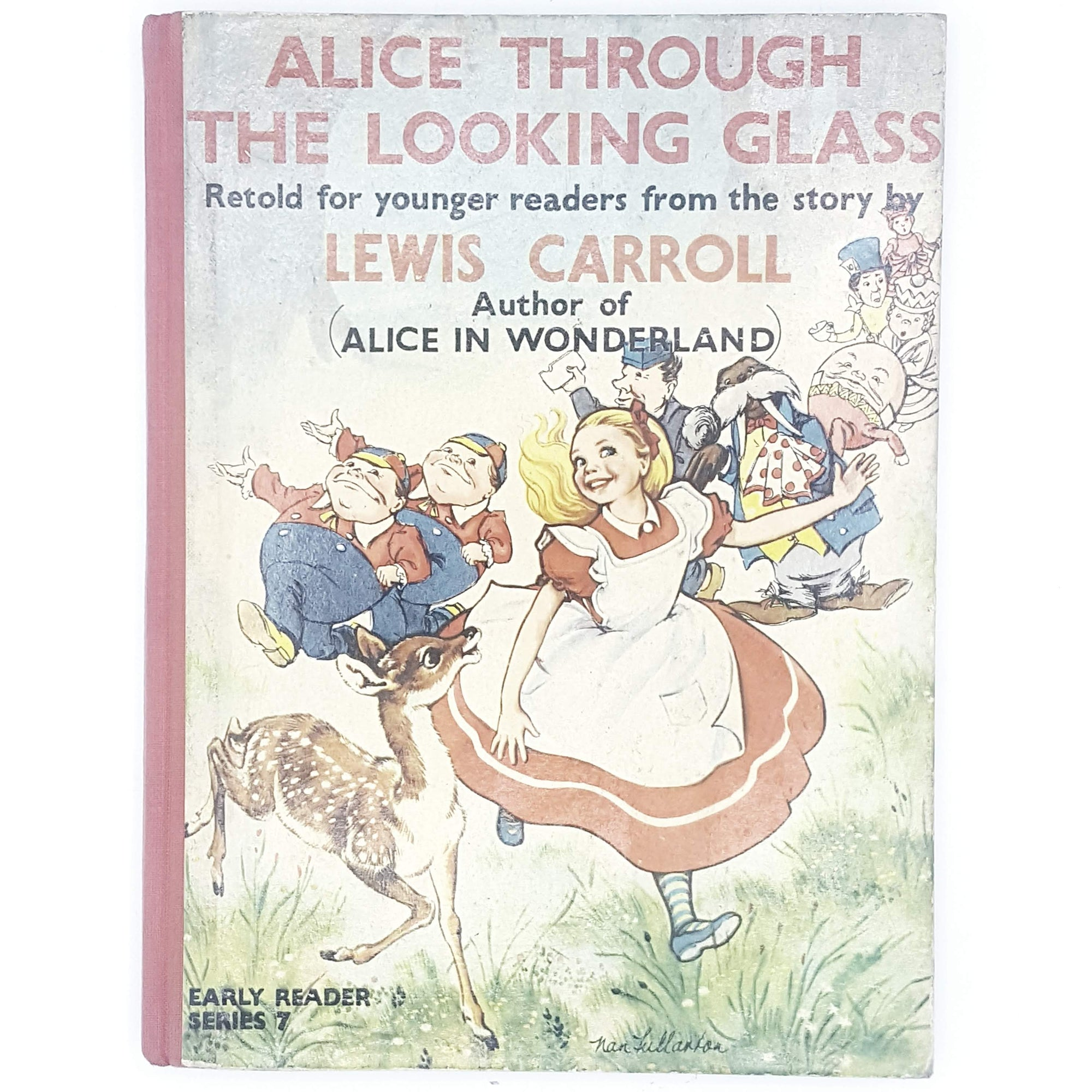 Lewis Carroll's Alice Through the Looking Glass illustrated