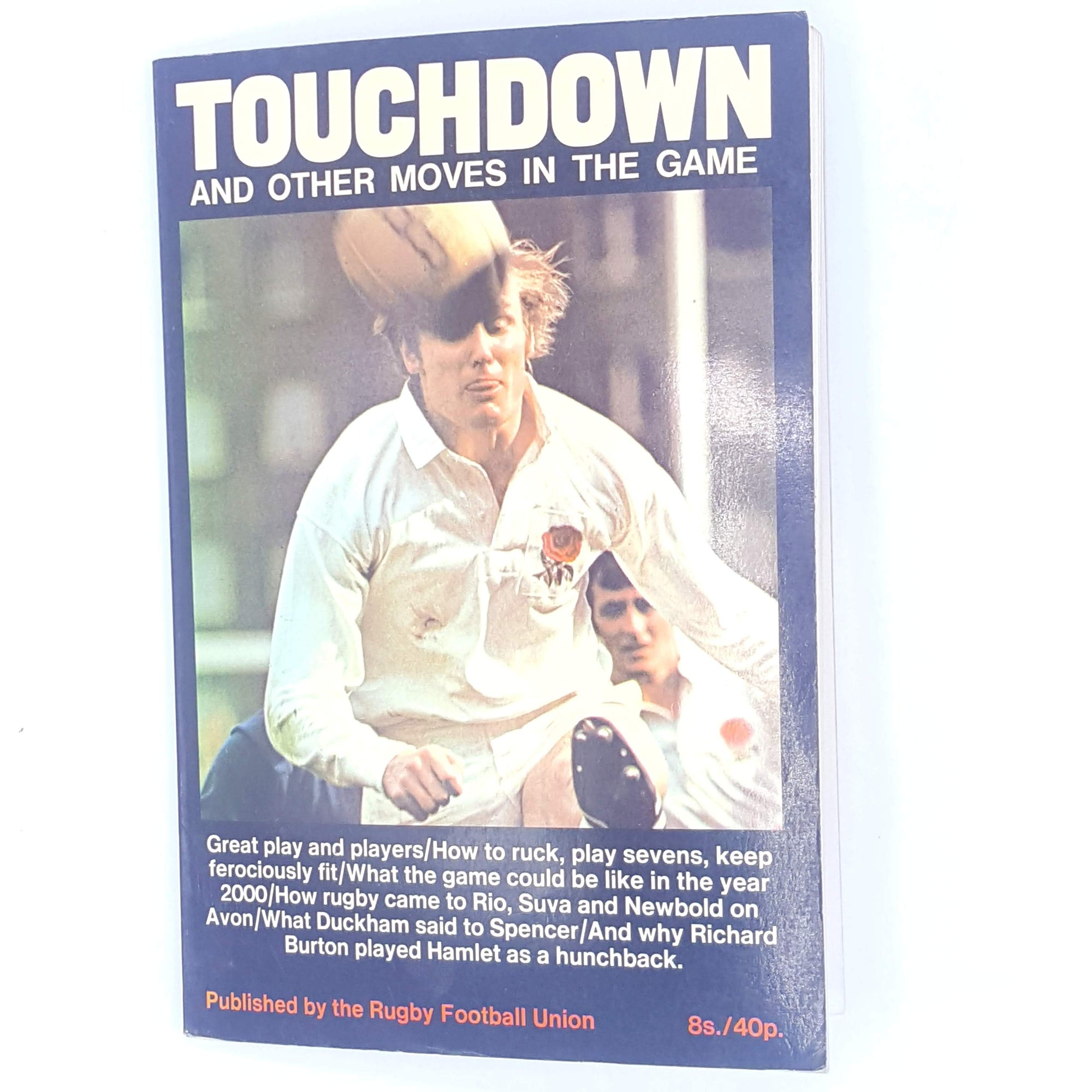 Touchdown and other moves in the game, published by the rugby football union