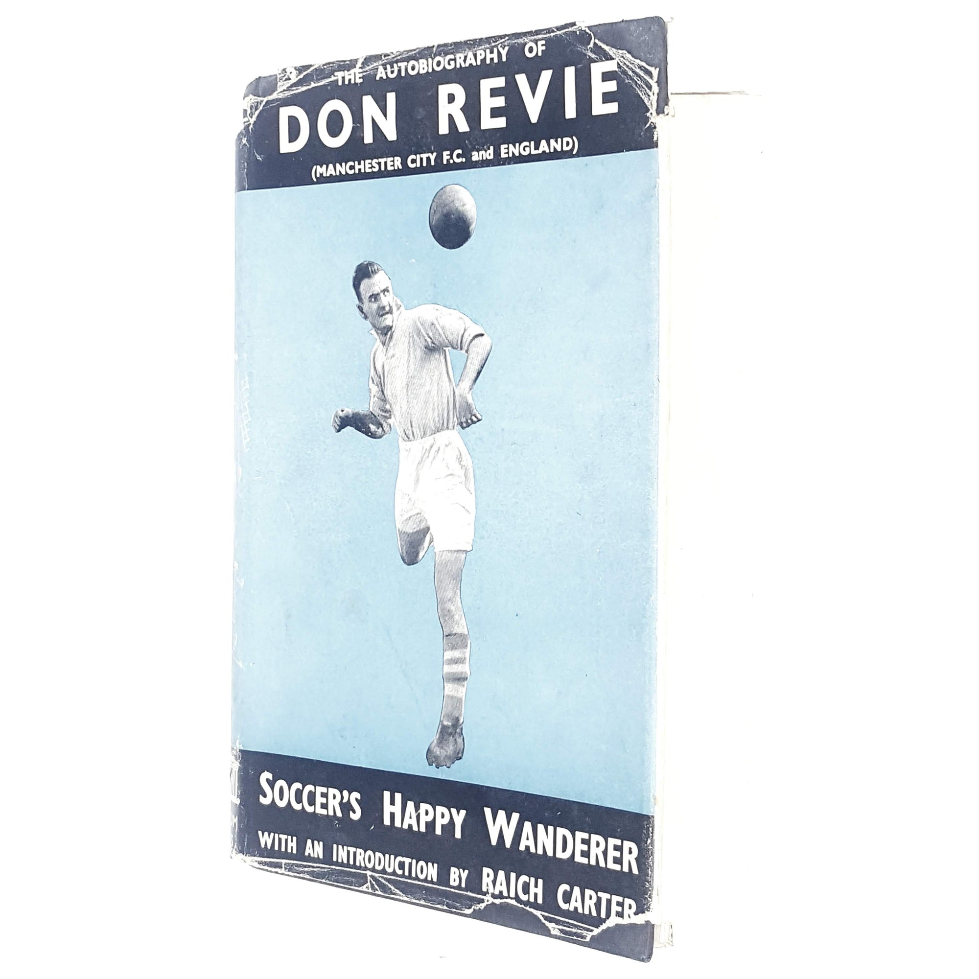 First Edition Autobiography of Don Revie 1955