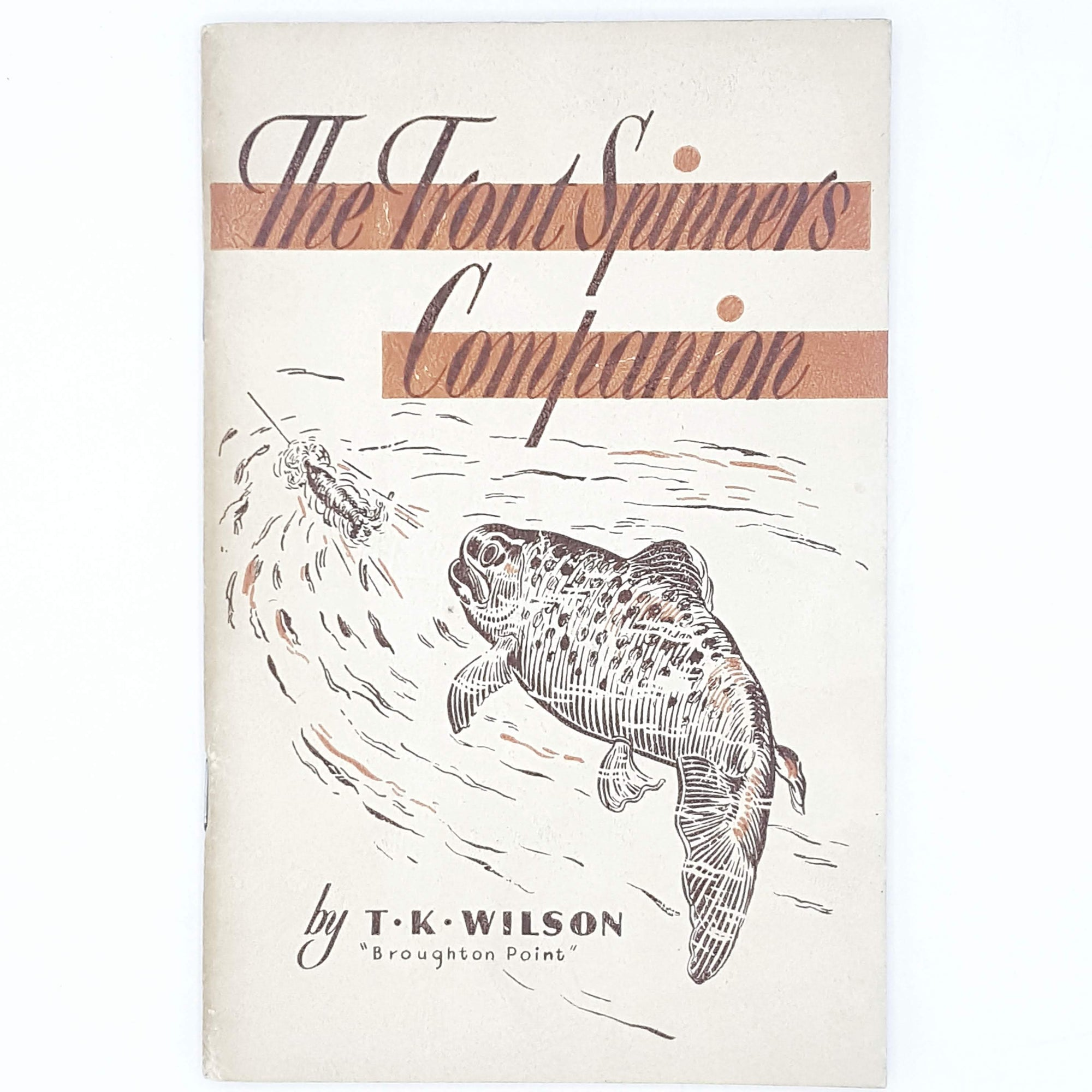 First Edition The Trouth Spinners Companion 1952