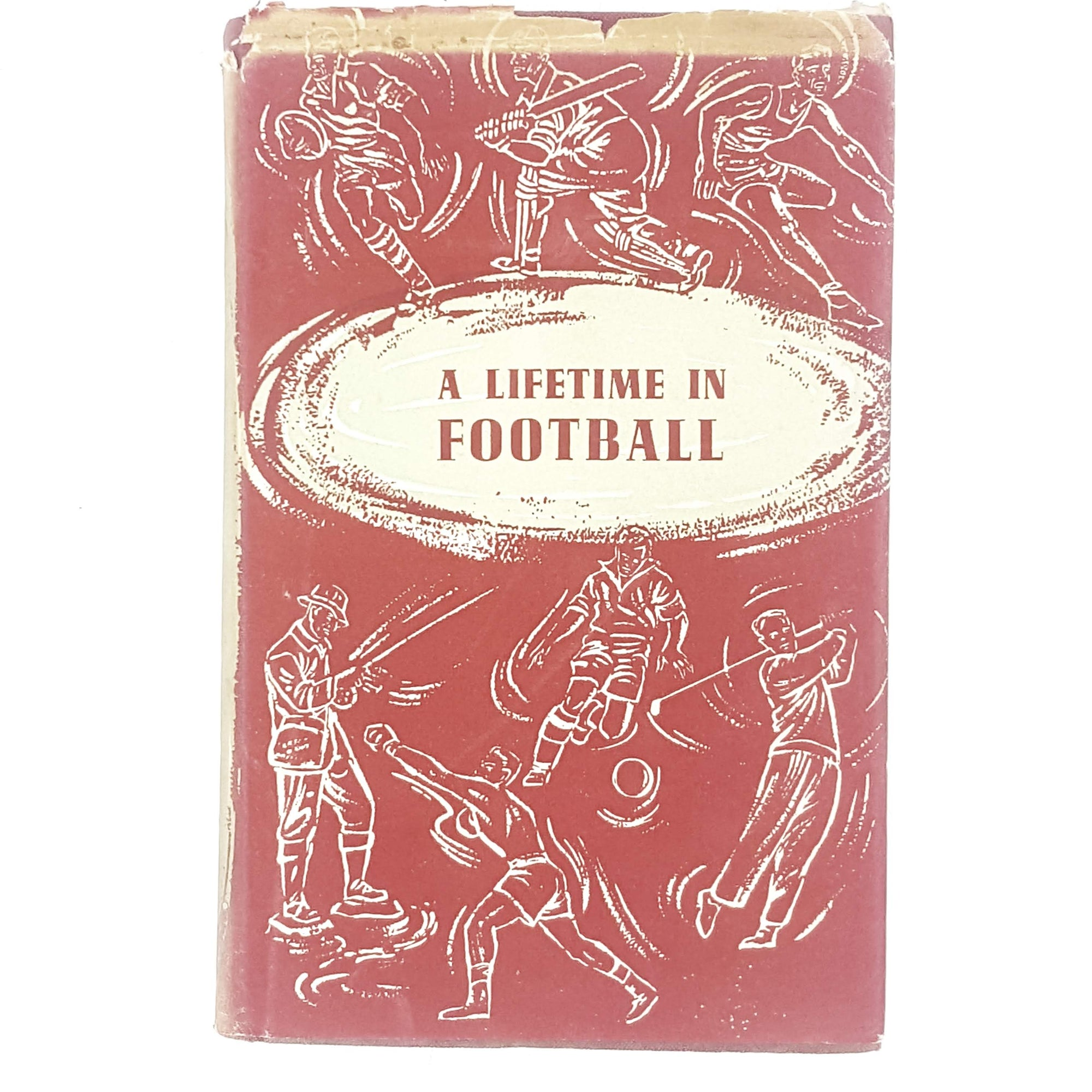 red-football-sport-vintage-book-country-house-library