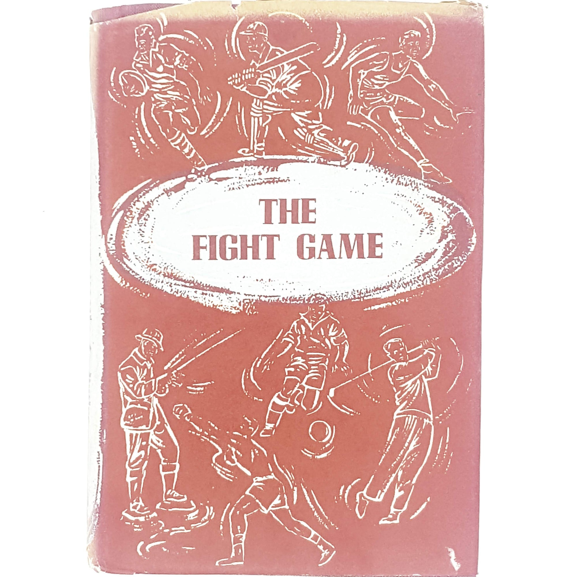 red-sport-fight-vintage-book-country-house-library