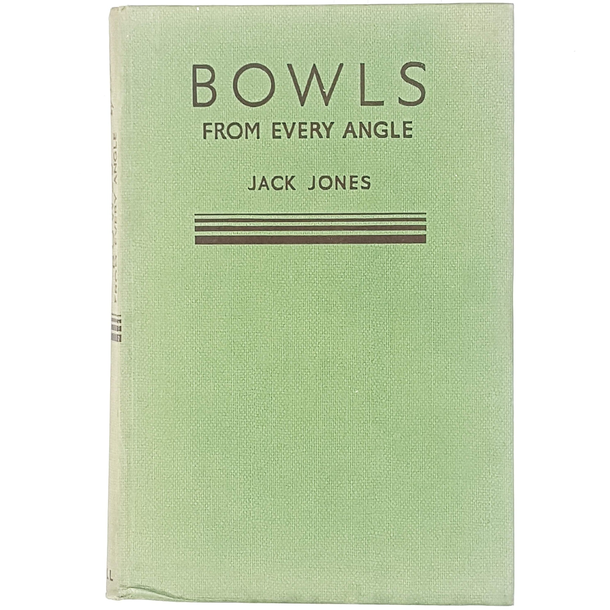 First Edition Bowls From Every Angle 1954