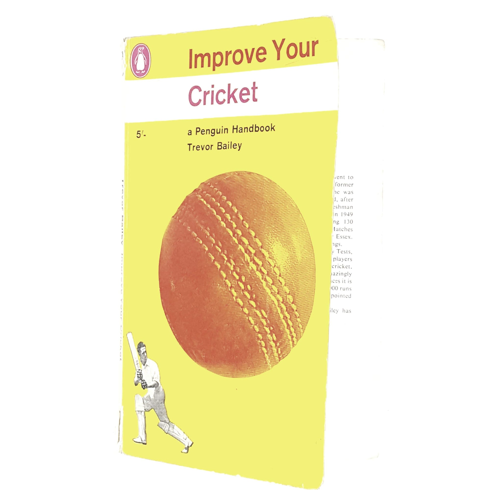 sport-cricket-yellow-vintage-penguin-country-library-book