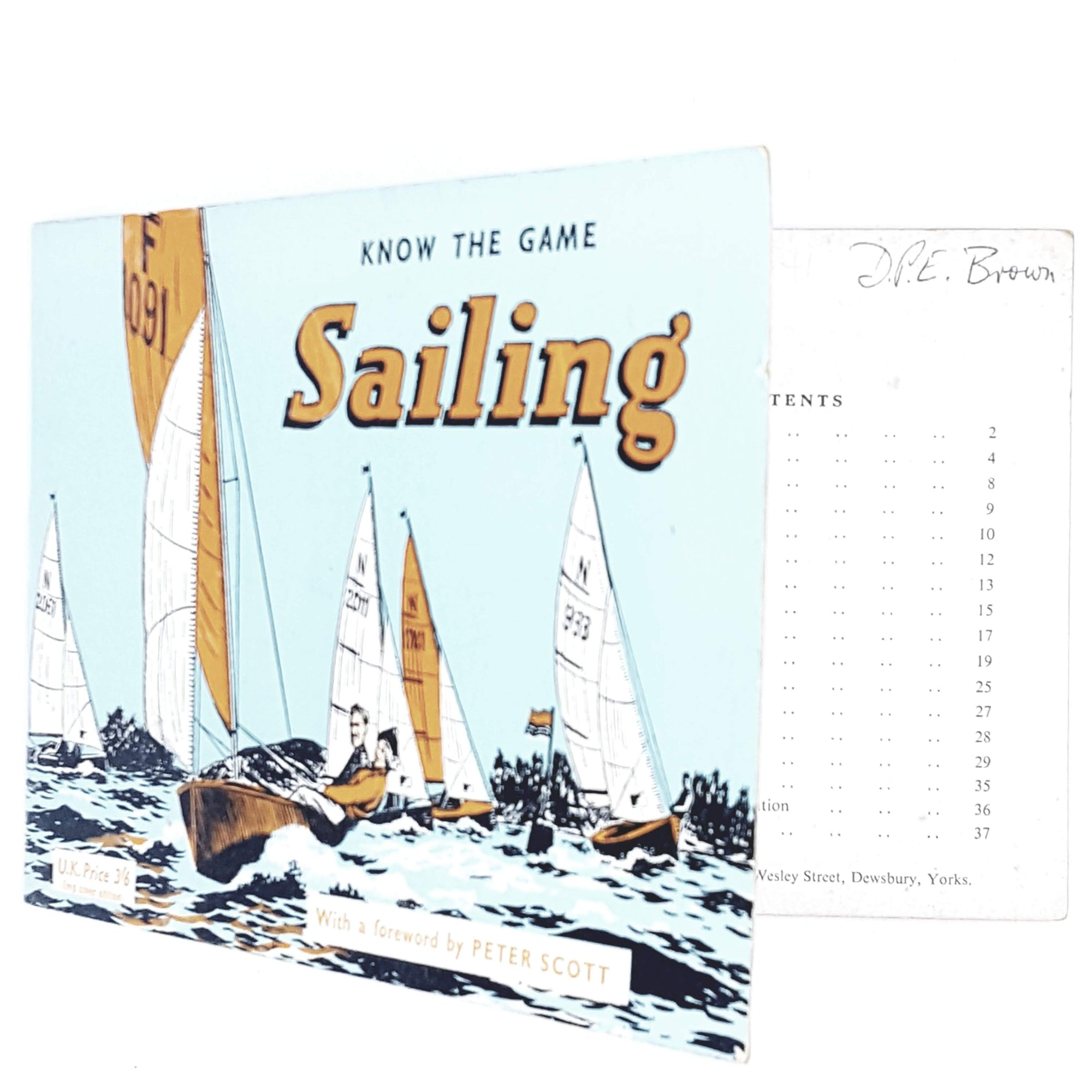 Illustrated Sailing 1959
