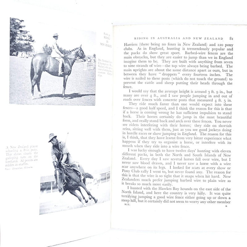 red-horse-vintage-sport-book-country-library-book