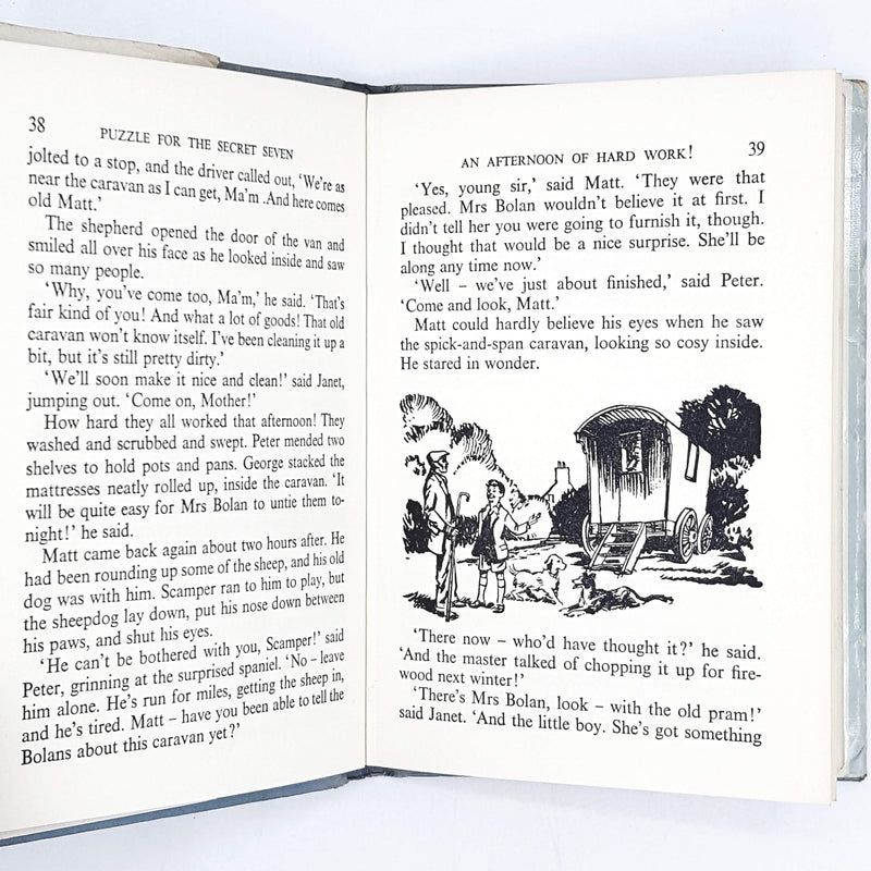 Enid Blyton's Puzzle for the Secret Seven 1967