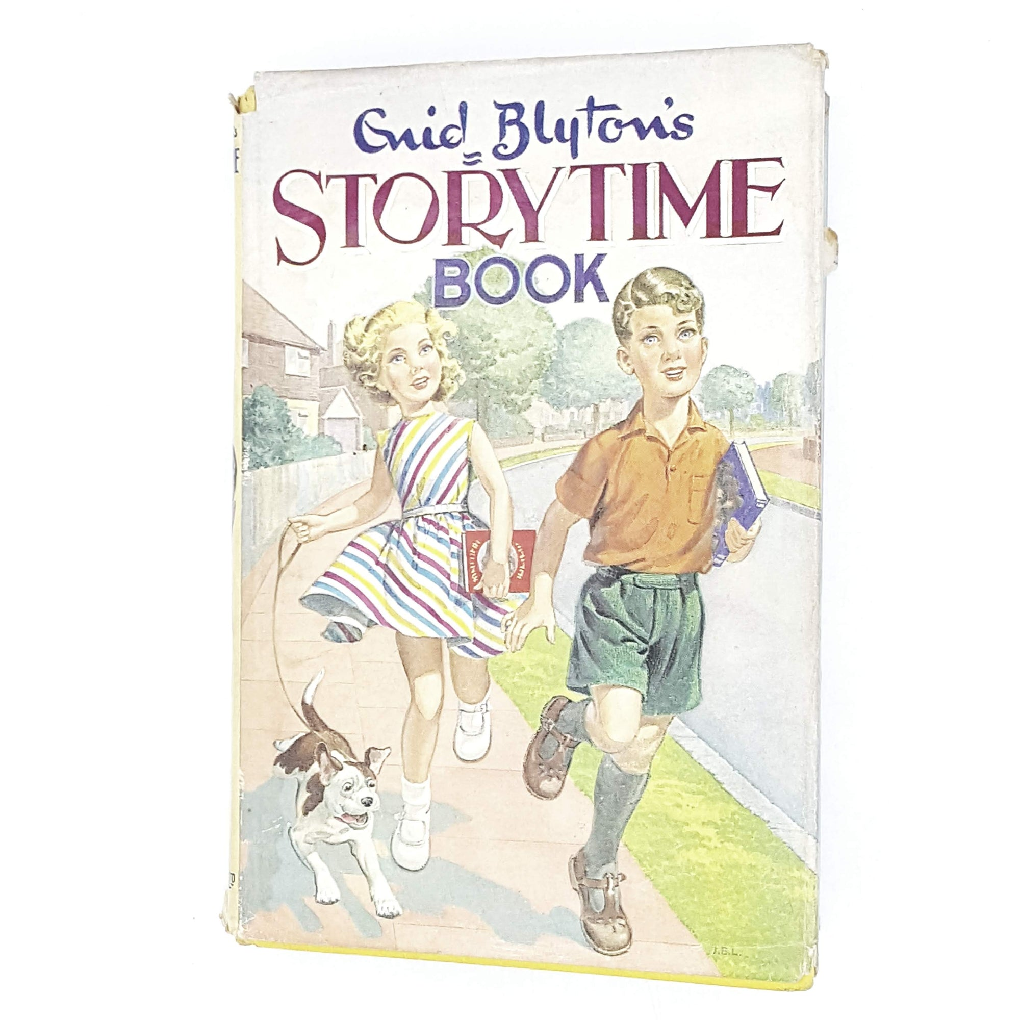 storytime-enid-blyton-kids-illustrated-vintage-book-country-library-book