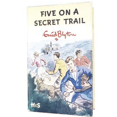 five-secret-trail-enid-blyton-kids-illustrated-vintage-book-country-library-book