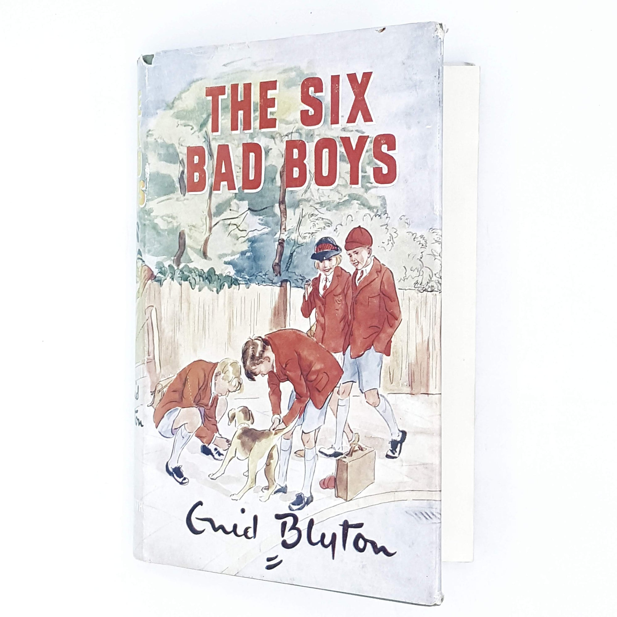 First Edition Enid Blyton's The Six Bad Boys 1951