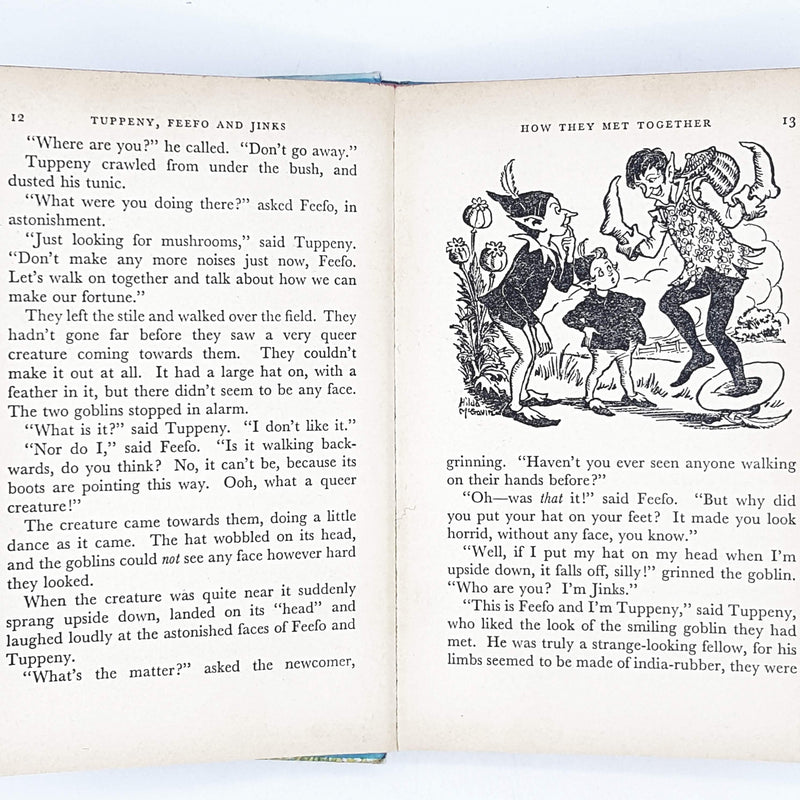 tuppeny-enid-blyton-kids-illustrated-vintage-book-country-library-book
